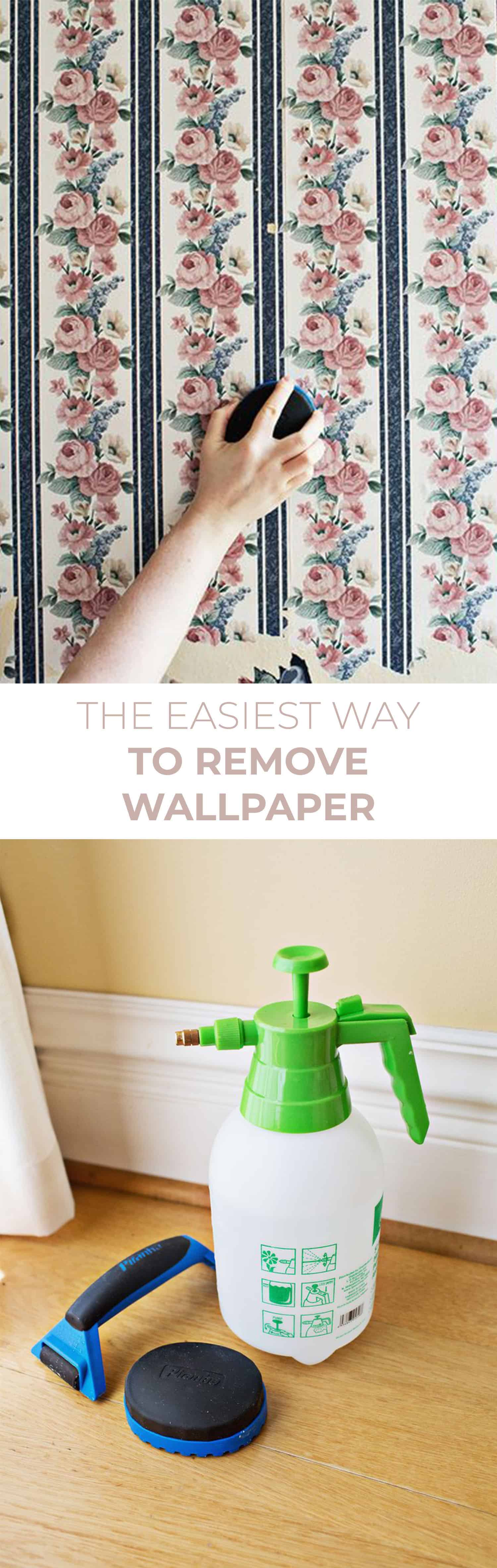 Wallpaper removal is not as scary as it sounds! We actually had fun working on our walls and getting them ready for painting. Any wallpaper removal tips ...