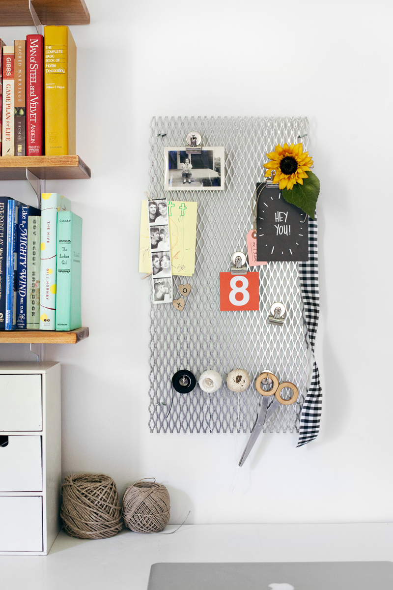 Try This Metal Grate Memo Board A Beautiful Mess