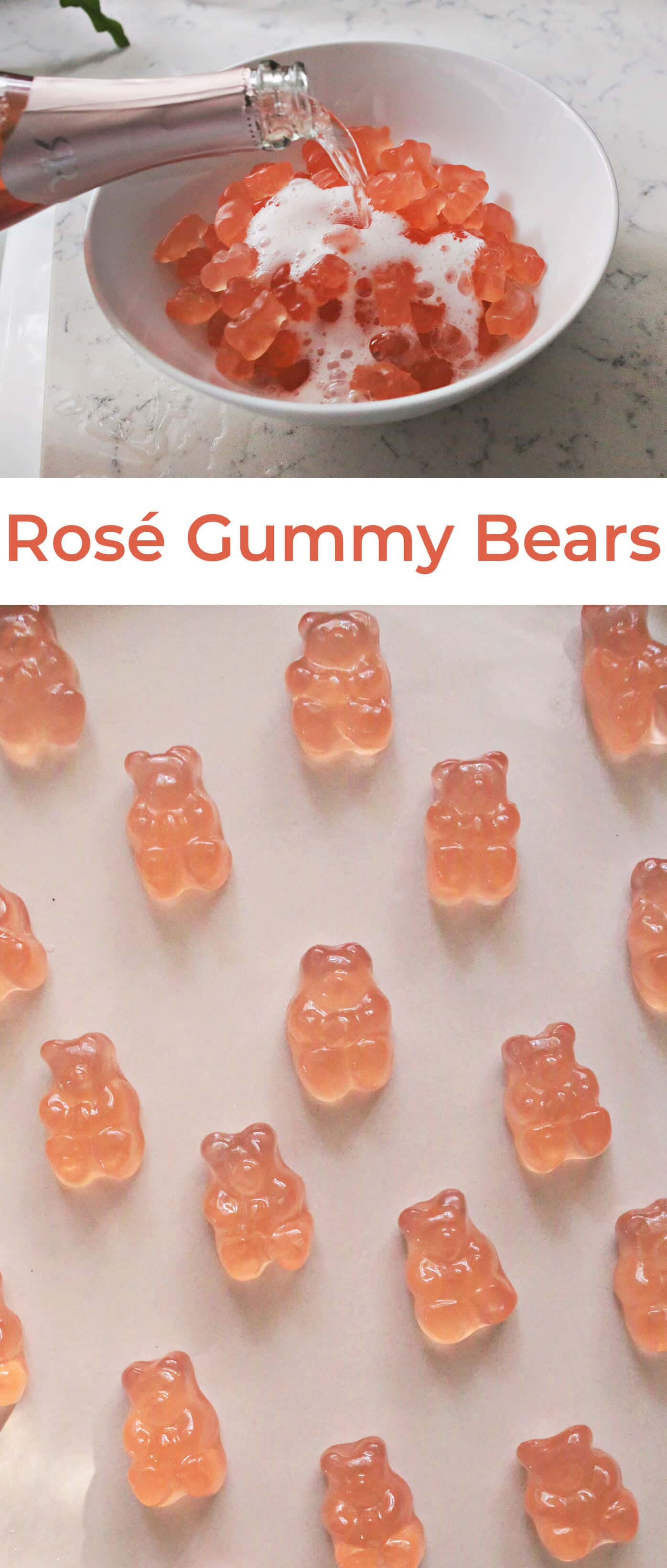 Try This: Rosé Soaked Gummy Bears - A Beautiful Mess