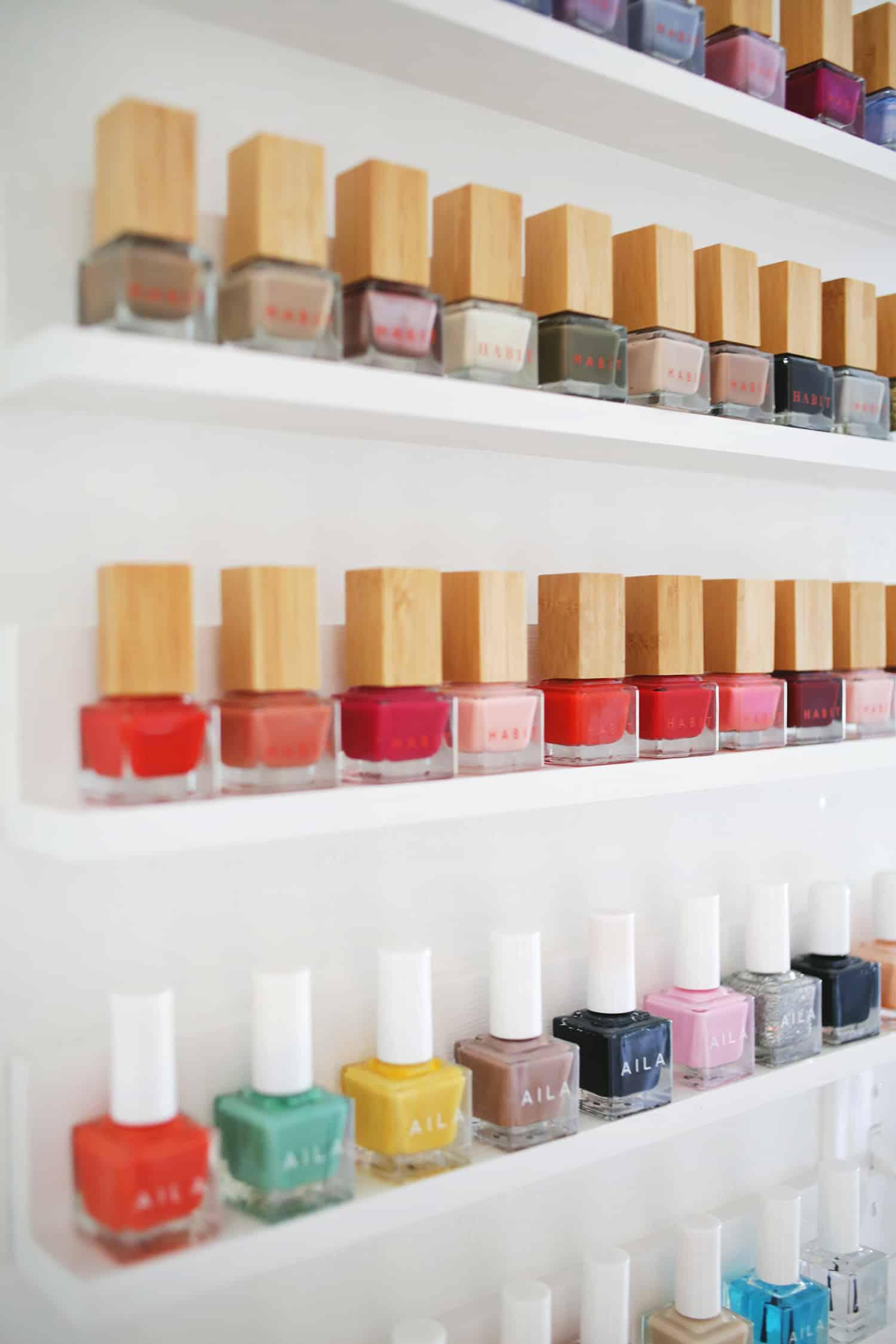 Easy Custom Nail Polish Shelves A Beautiful Mess