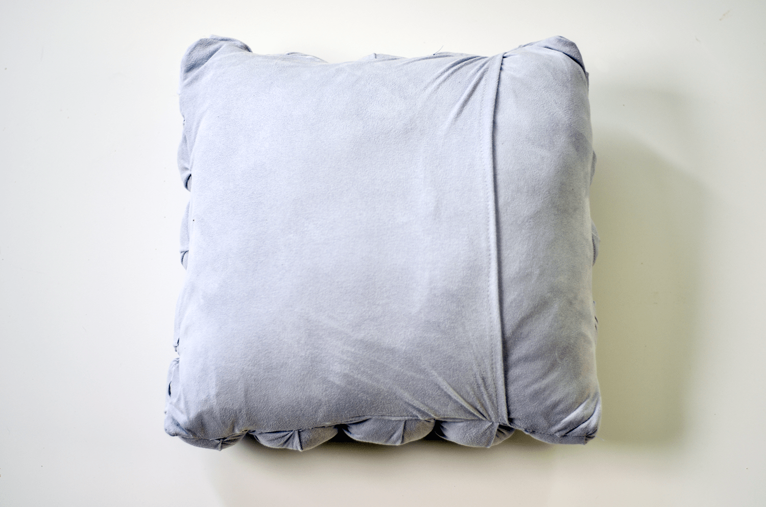 Make Your Own Puff Quilted Pillow Cover - Add Pillow Insert