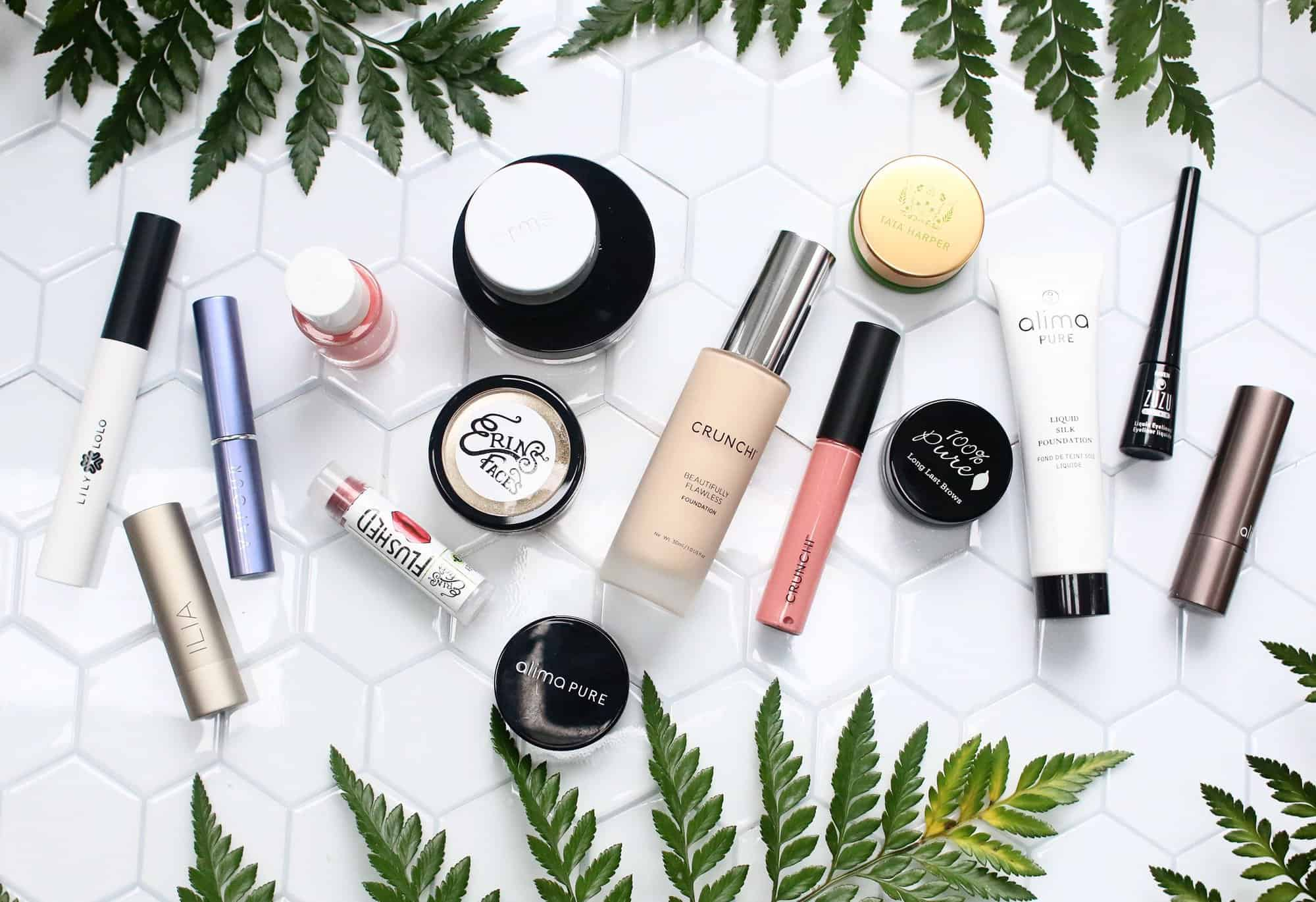 Today I'm sharing 10 of my favorite nontoxic beauty brands that are worth trying!