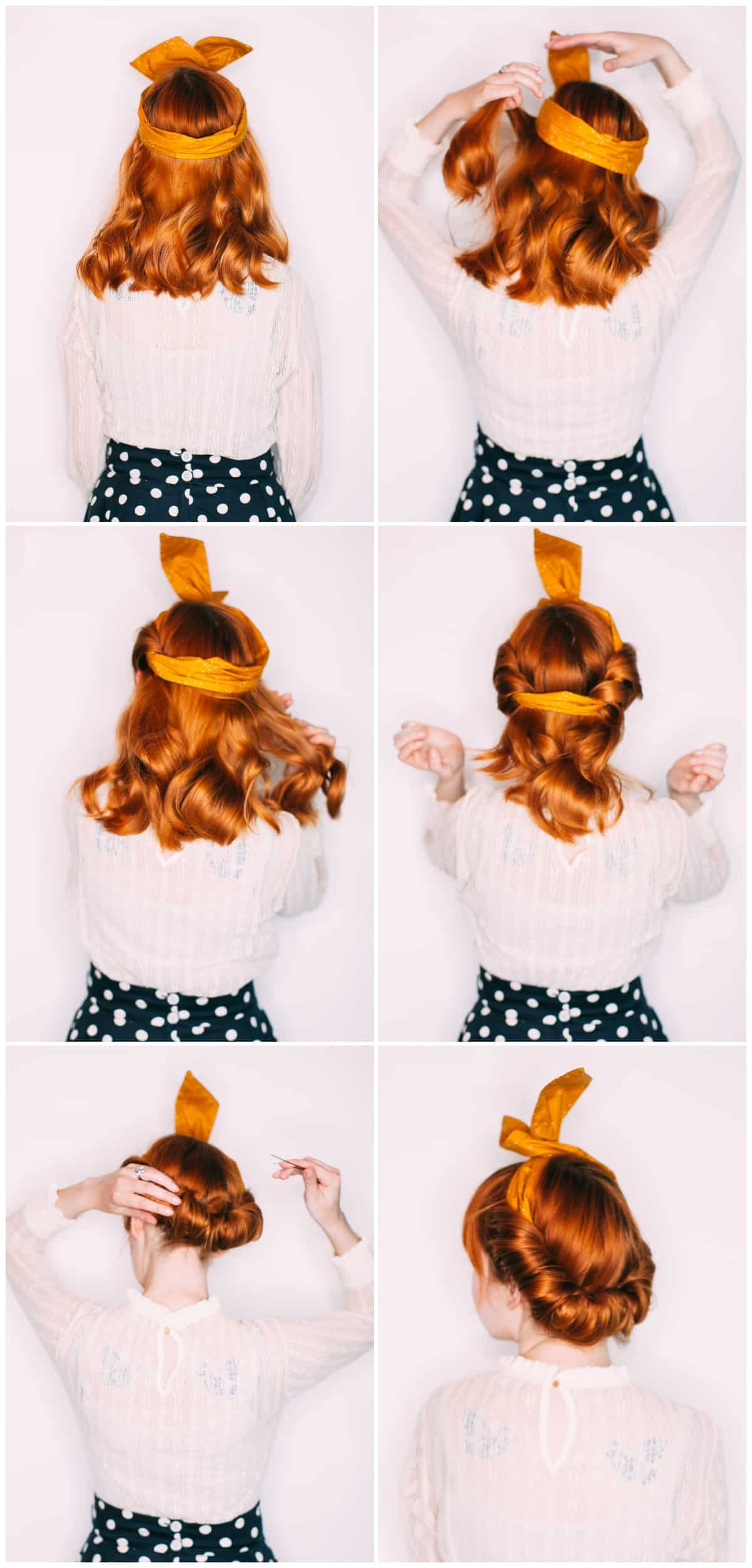 Five Easy Hairstyles With A Headband A Beautiful Mess