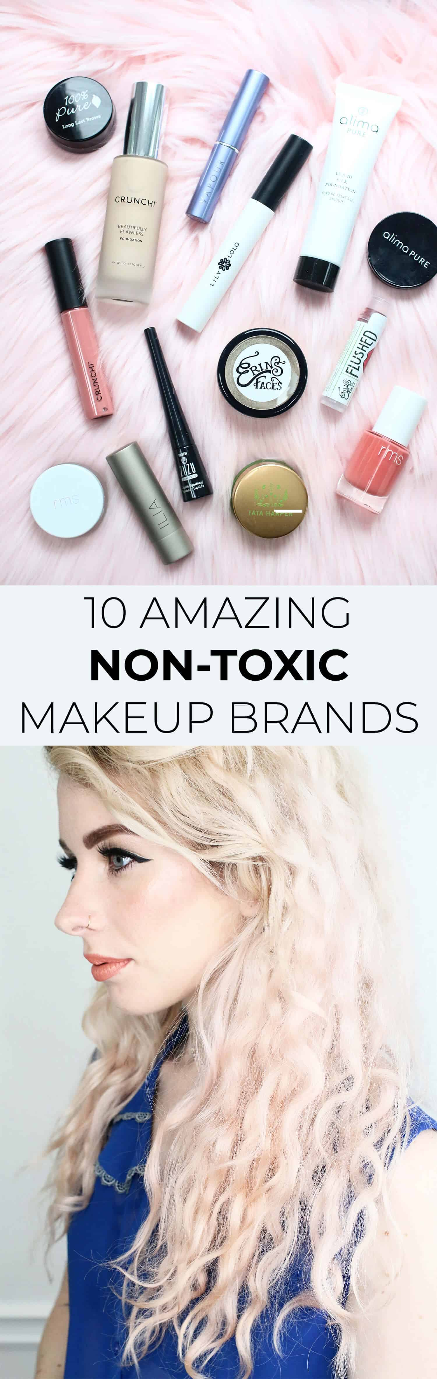 10 Nontoxic Makeup Brands To Try! - A Beautiful Mess