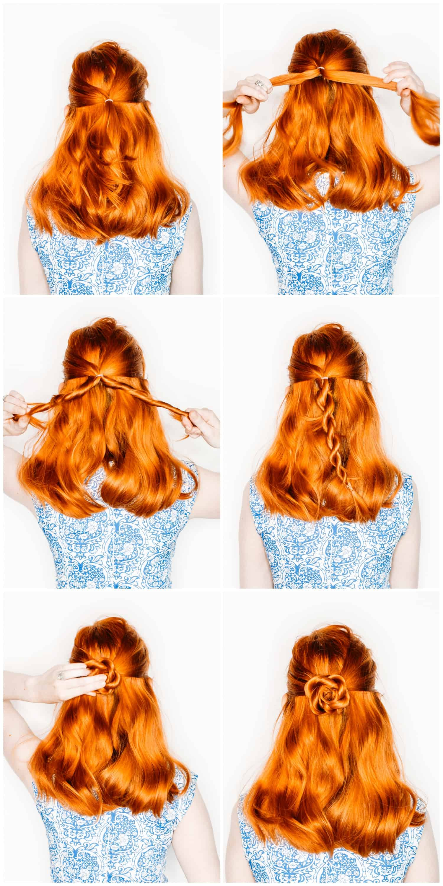 The Easiest Flower Braids Ever A Beautiful Mess