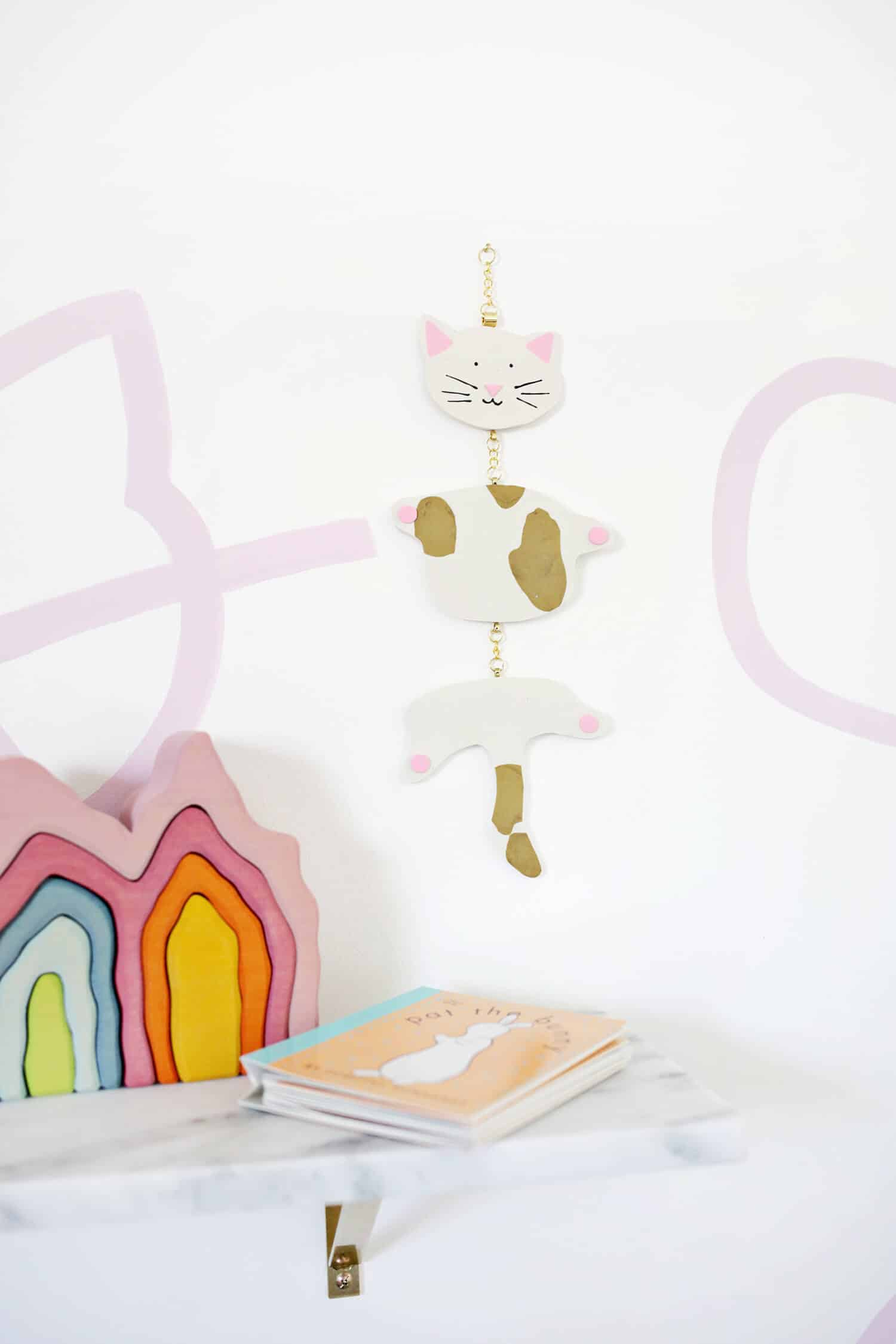 From pillows, to toys, to wall hangings—there are so many things you can make and add a fun kid twist to! I love this abstract panda mobile ...