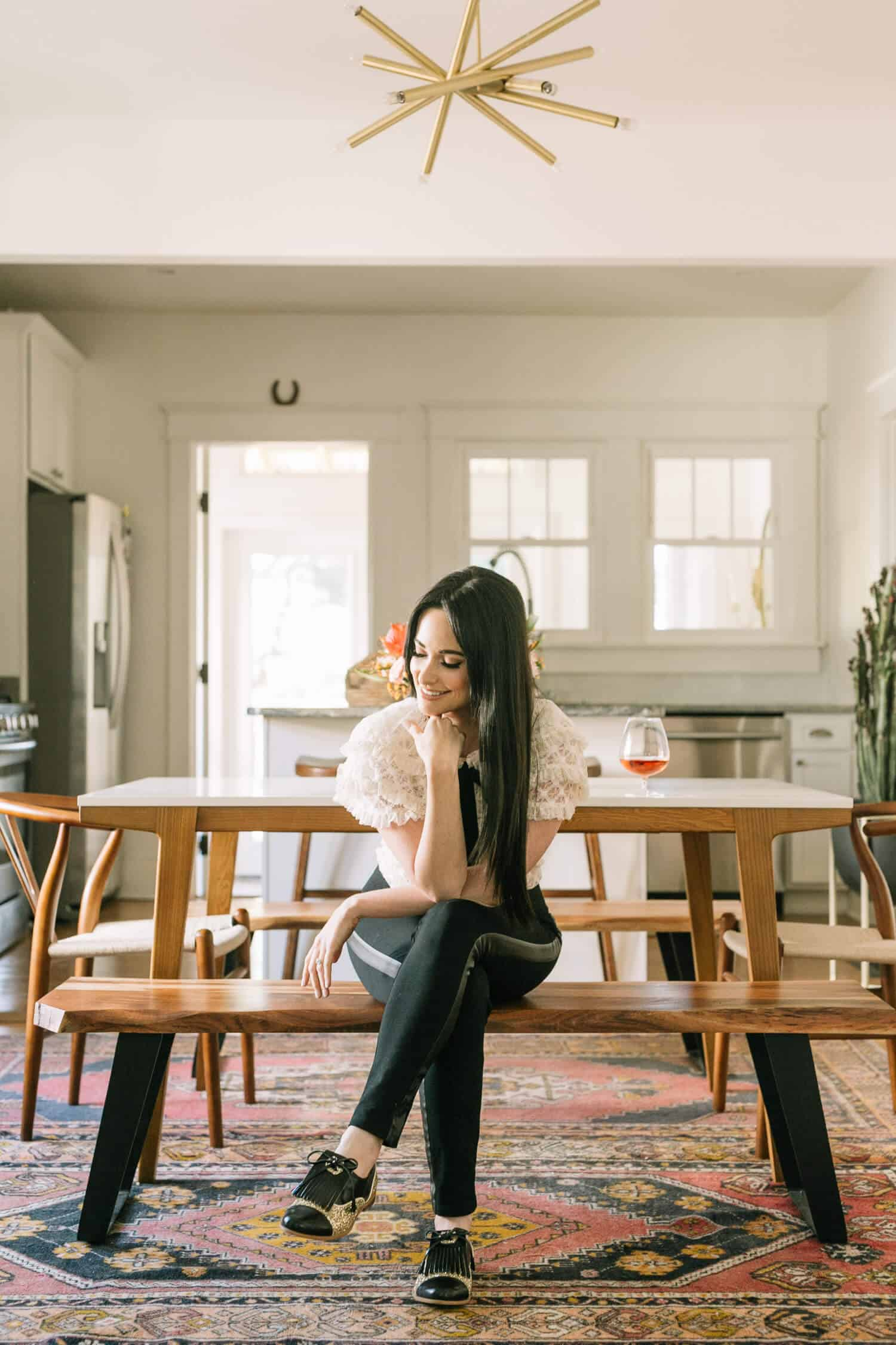Earlier This Year, We Did A Living Room Tour With Kacey Musgraves And We  Had So Much Fun That We Decided To Do One More Room: Her Dining Room.