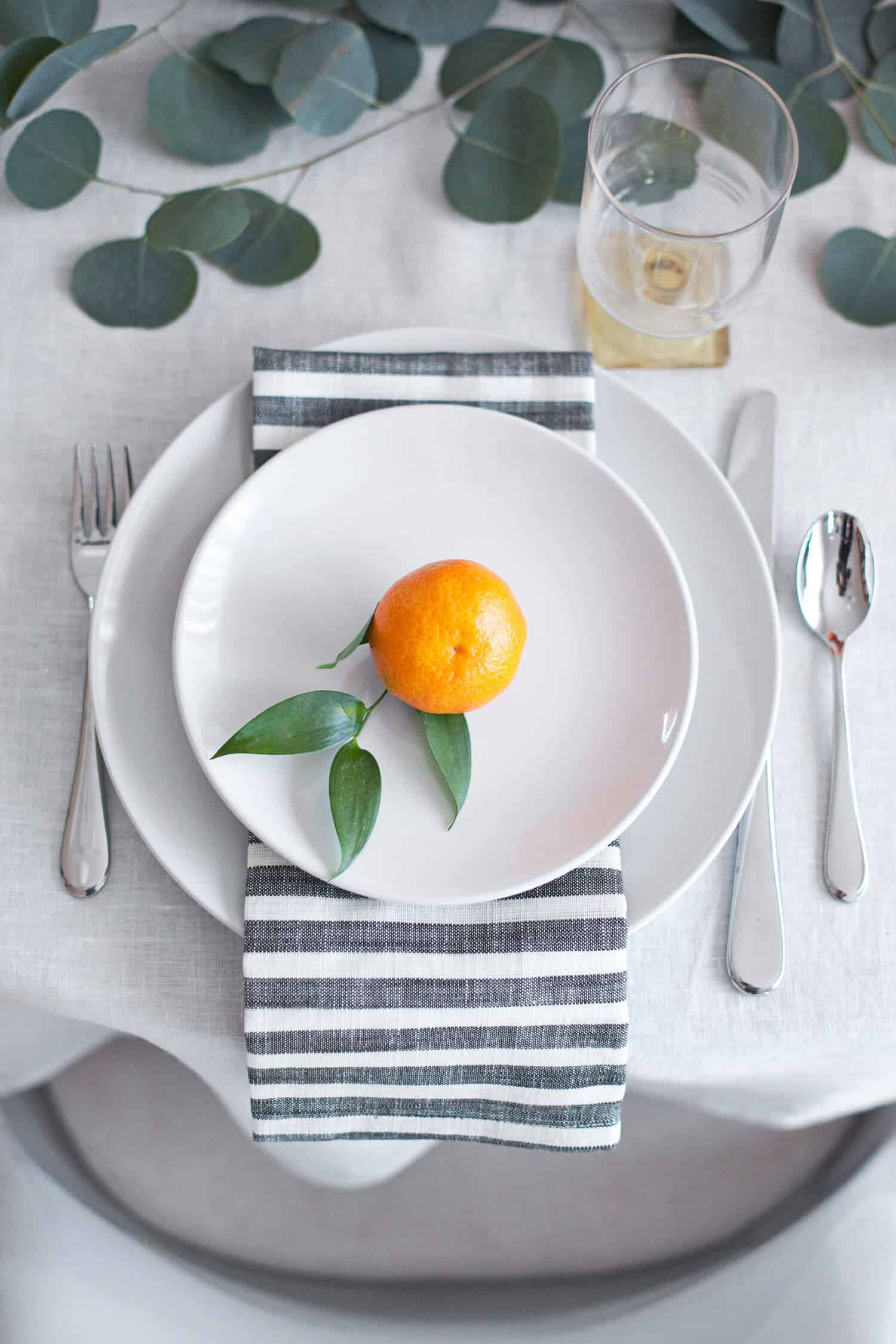 Clementine Place Setting