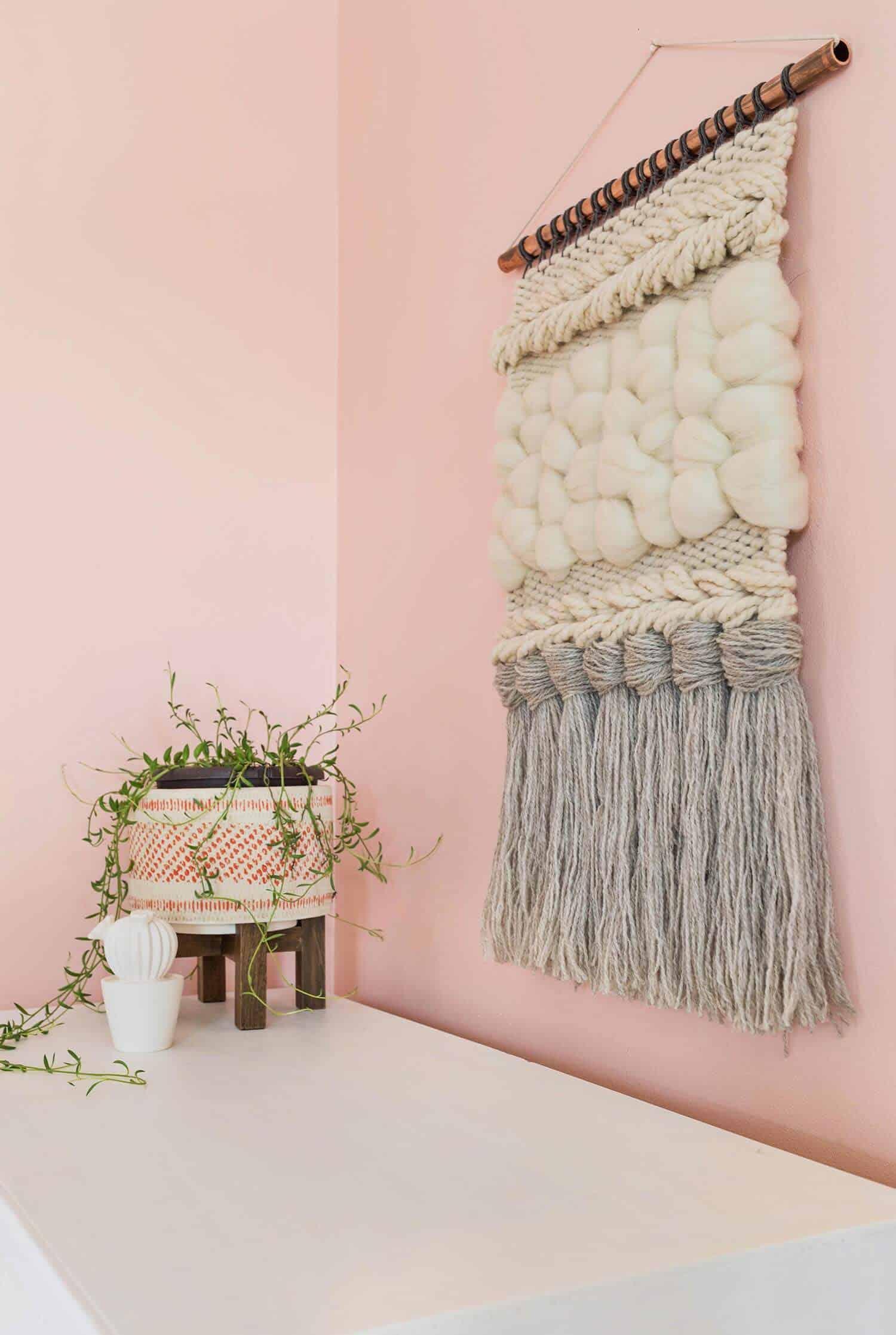 Quick Weave Wall Hanging Diy A Beautiful Mess