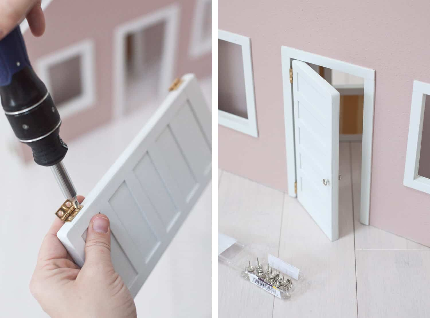 Make a Fold-Away Dollhouse
