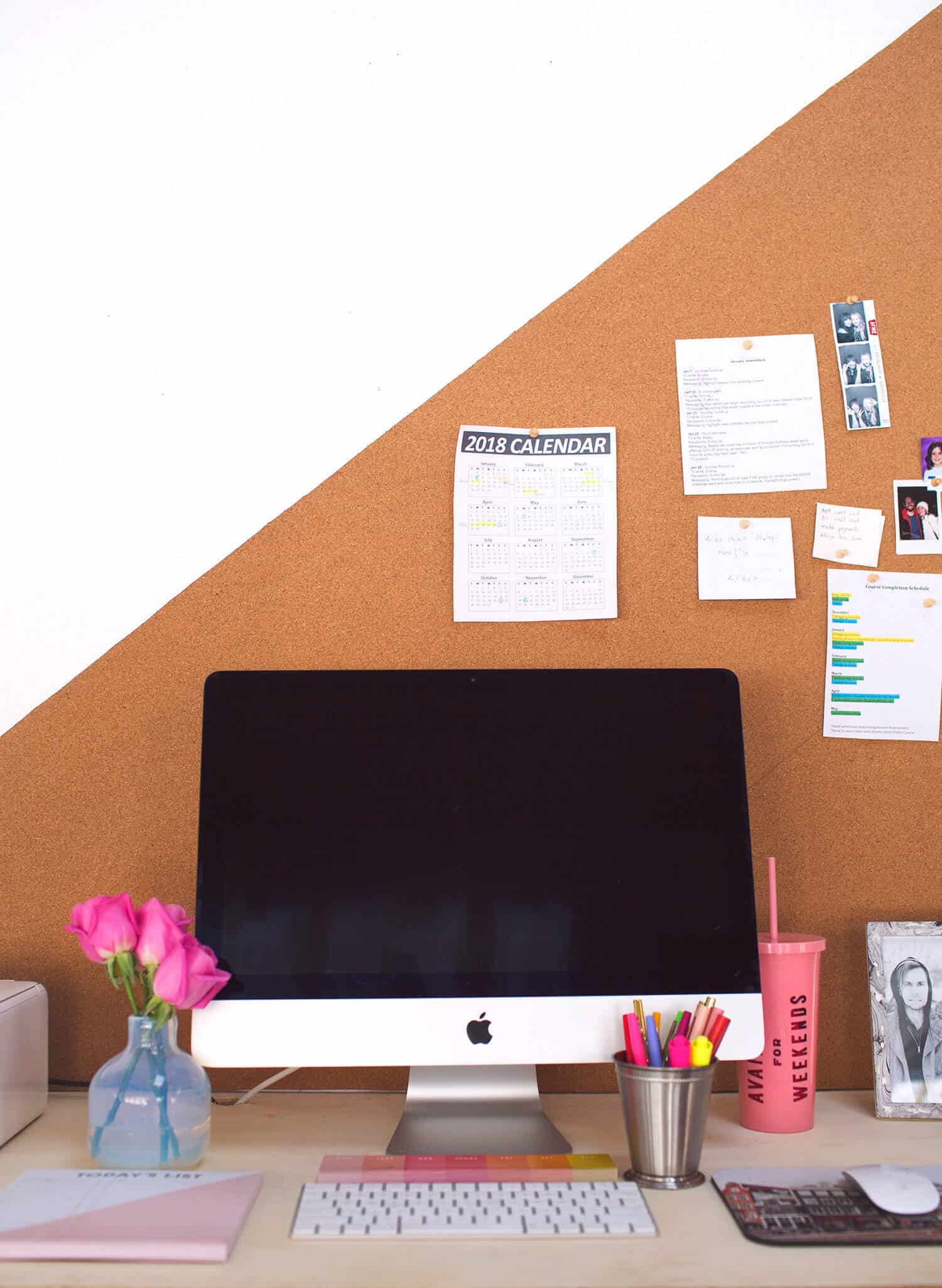 I Need Ideas For Decorating My Living Room: Easy DIY Bulletin Board (Any Shape Or Size)