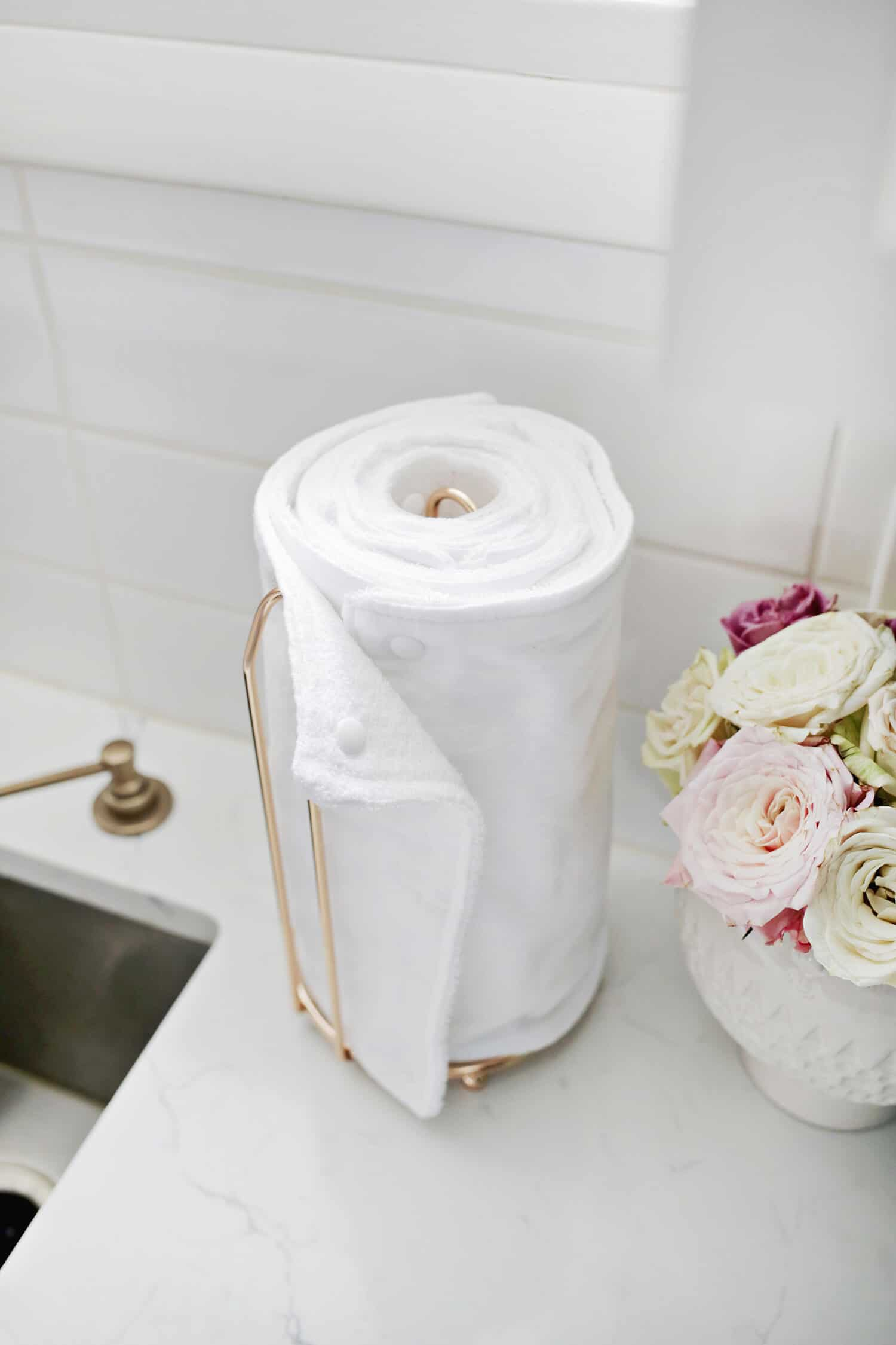 Unpaper Towel Diy They Are Reuseable A Beautiful Mess