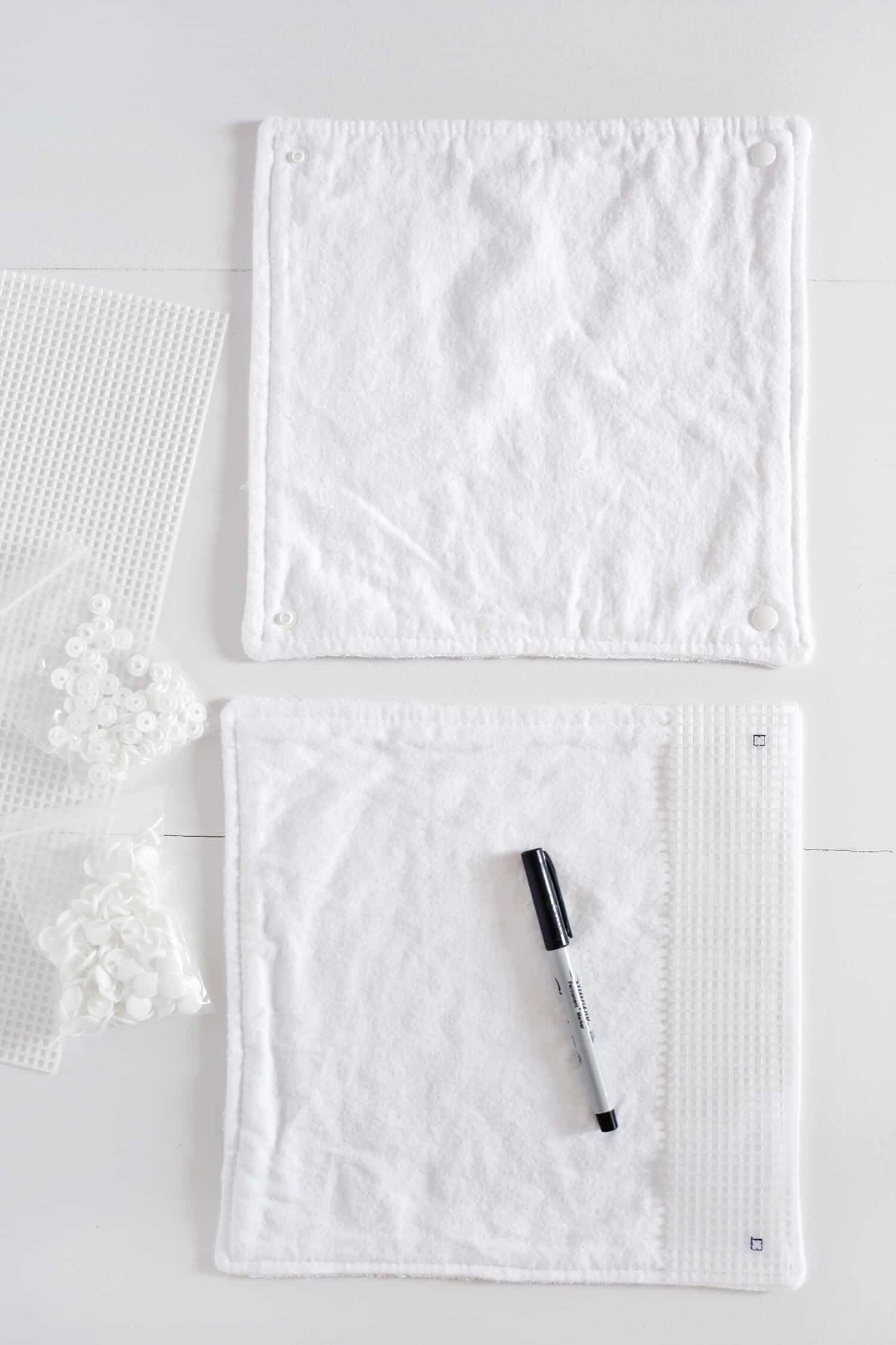 Unpaper Towel DIY (They Are Reuseable!) - A Beautiful Mess