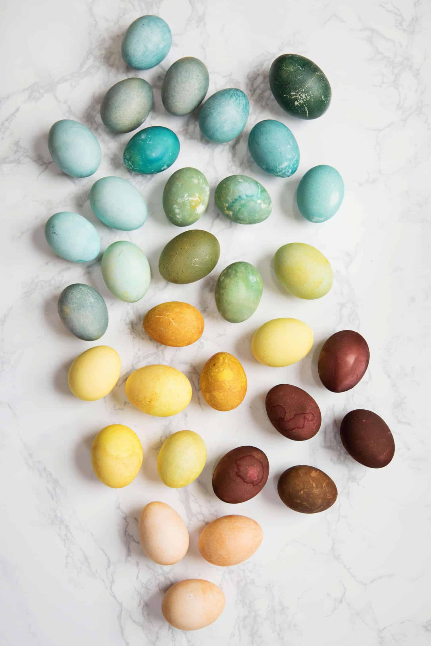 Naturally Dyed Easter Eggs - A Beautiful Mess