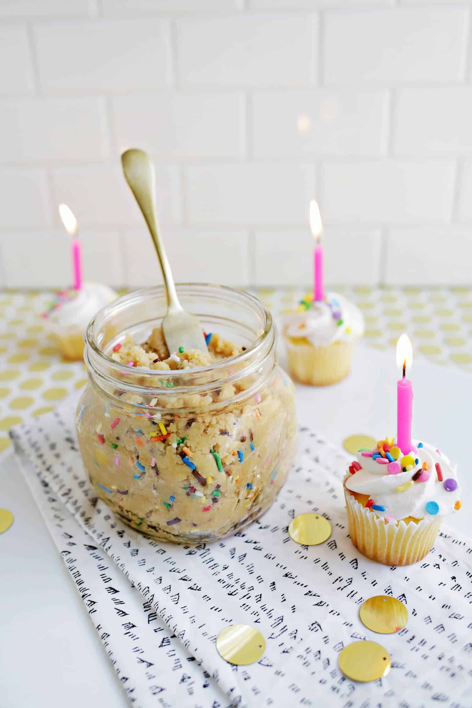 Birthday Cake Cookie Butter