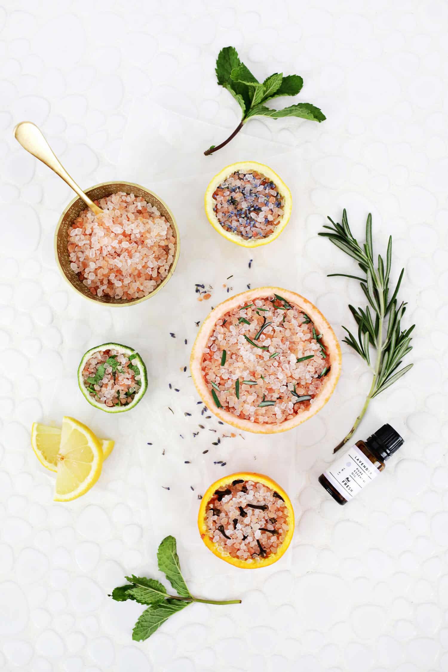 Citrus + Himalayan Salt Diffuser 4 Ways! - A Beautiful Mess
