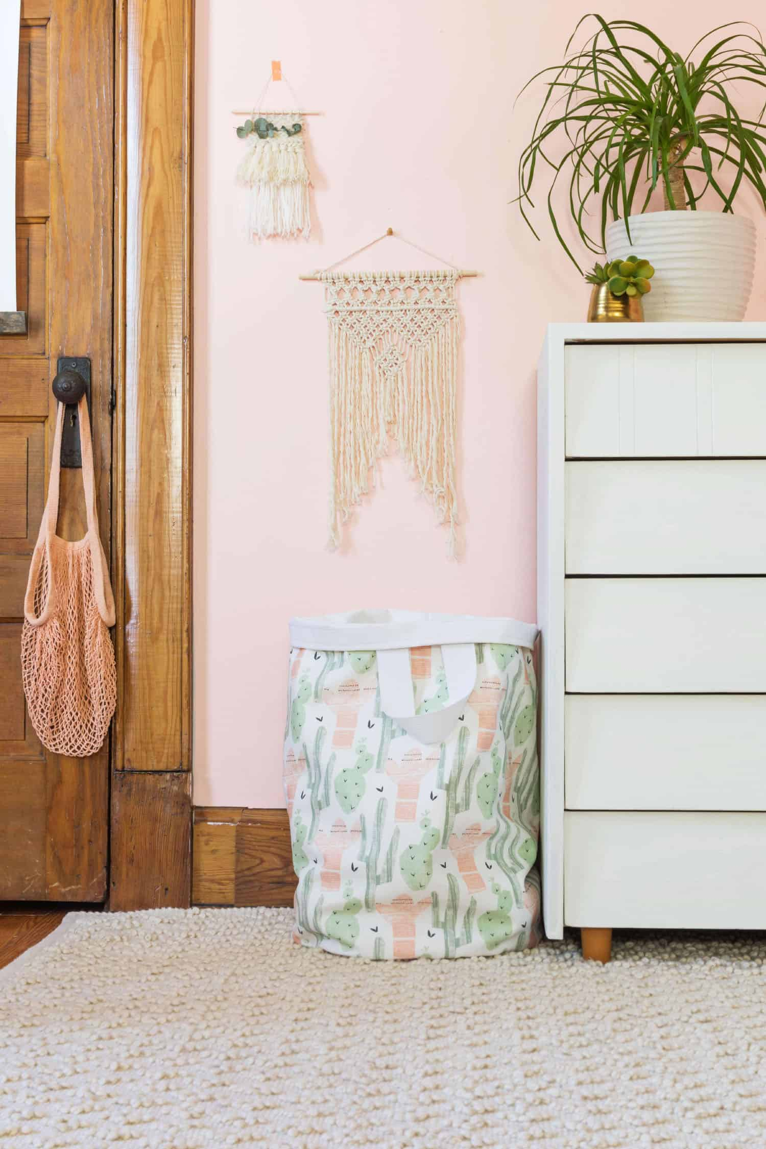 Anything is cuter than dirty clothes strewn across the room, but this canvas laundry bag is making my life much easier! Simply having a designated dirty ...
