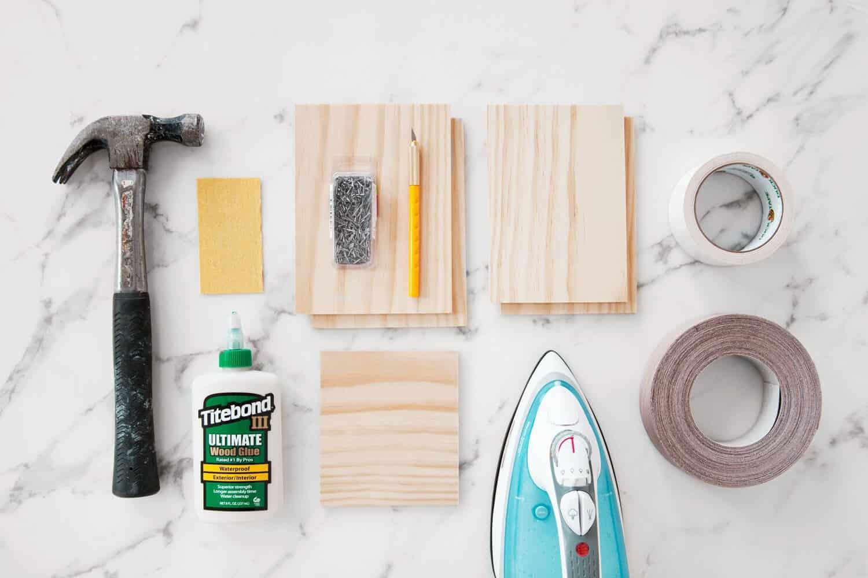 DIY Wood Utensil Holder