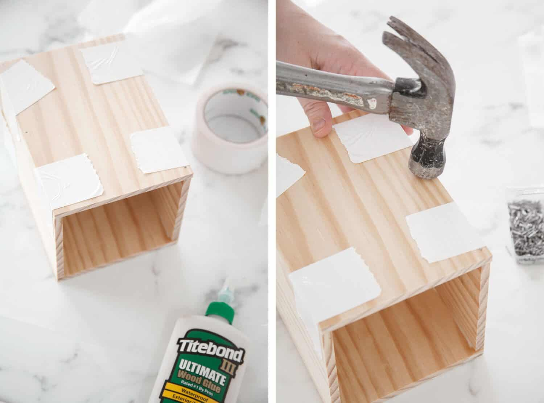 How to Make a Wood Utensil Holder