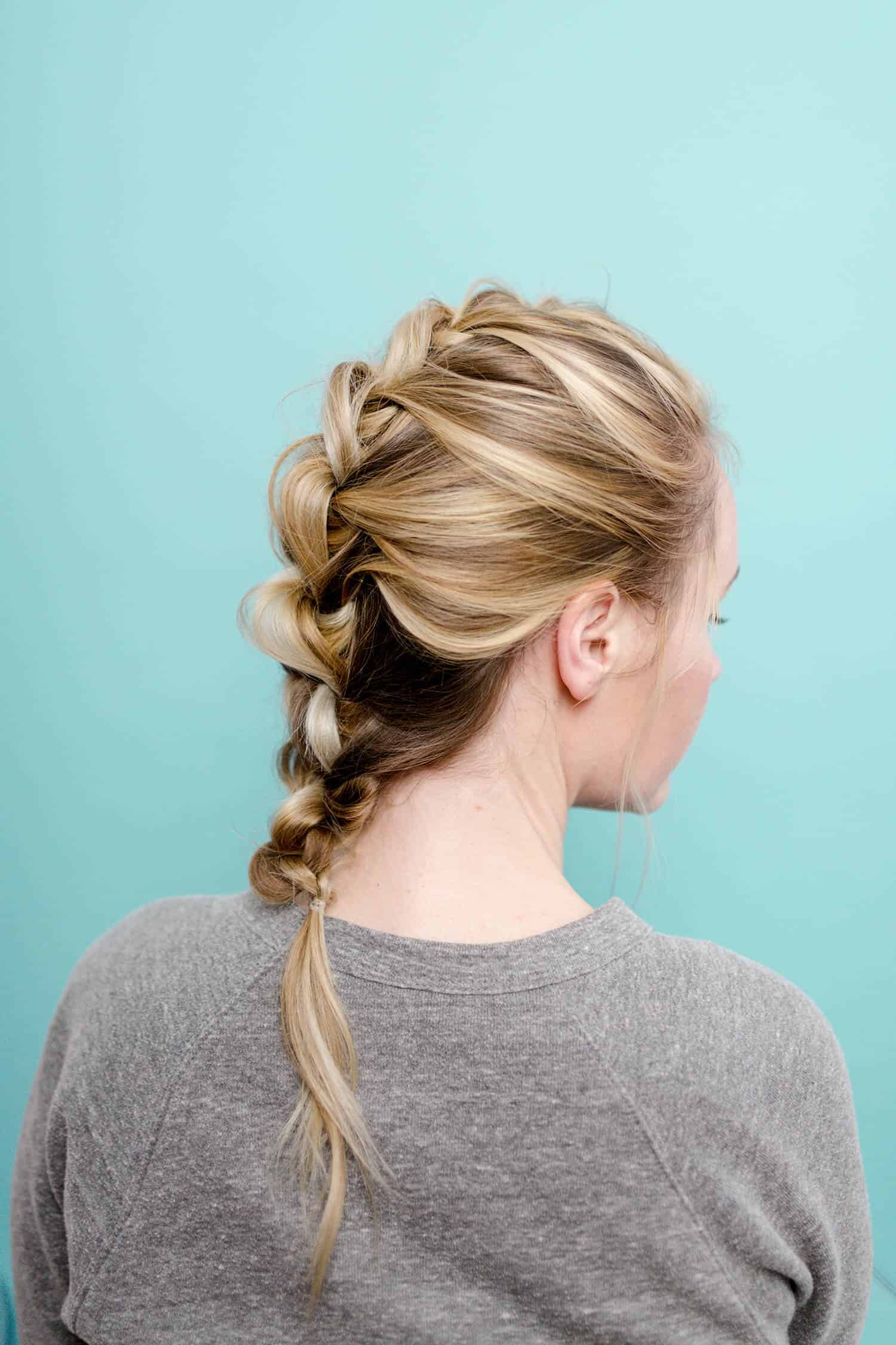 Easy Wonder Woman Inspired Knotted Braid A Beautiful Mess