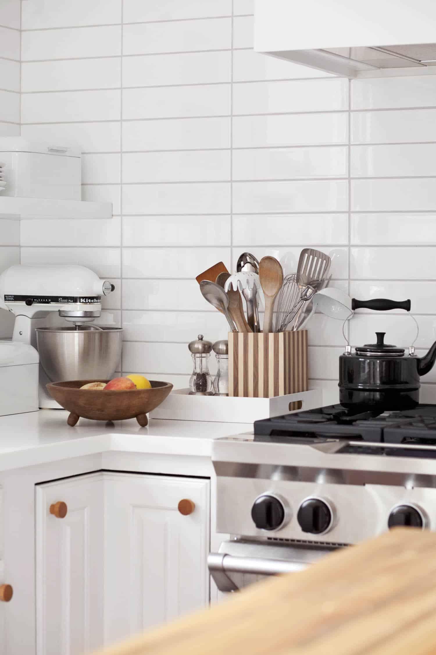 how to make this striped utensil holder
