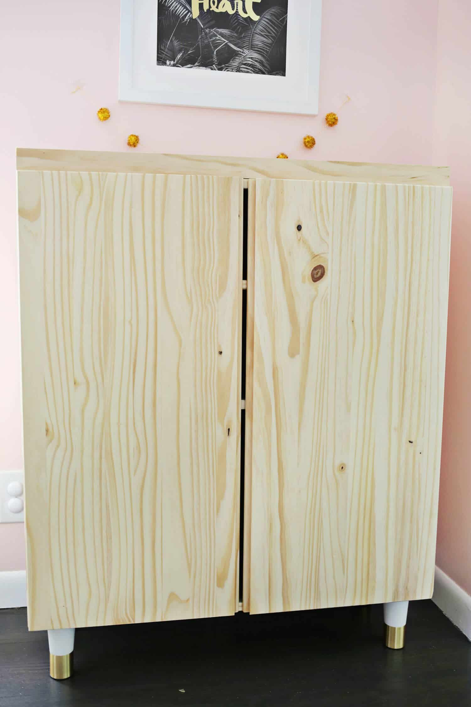 Ikea IVAR Cabinet Hack (Turned Into A Bar Cabinet!) - A Beautiful Mess