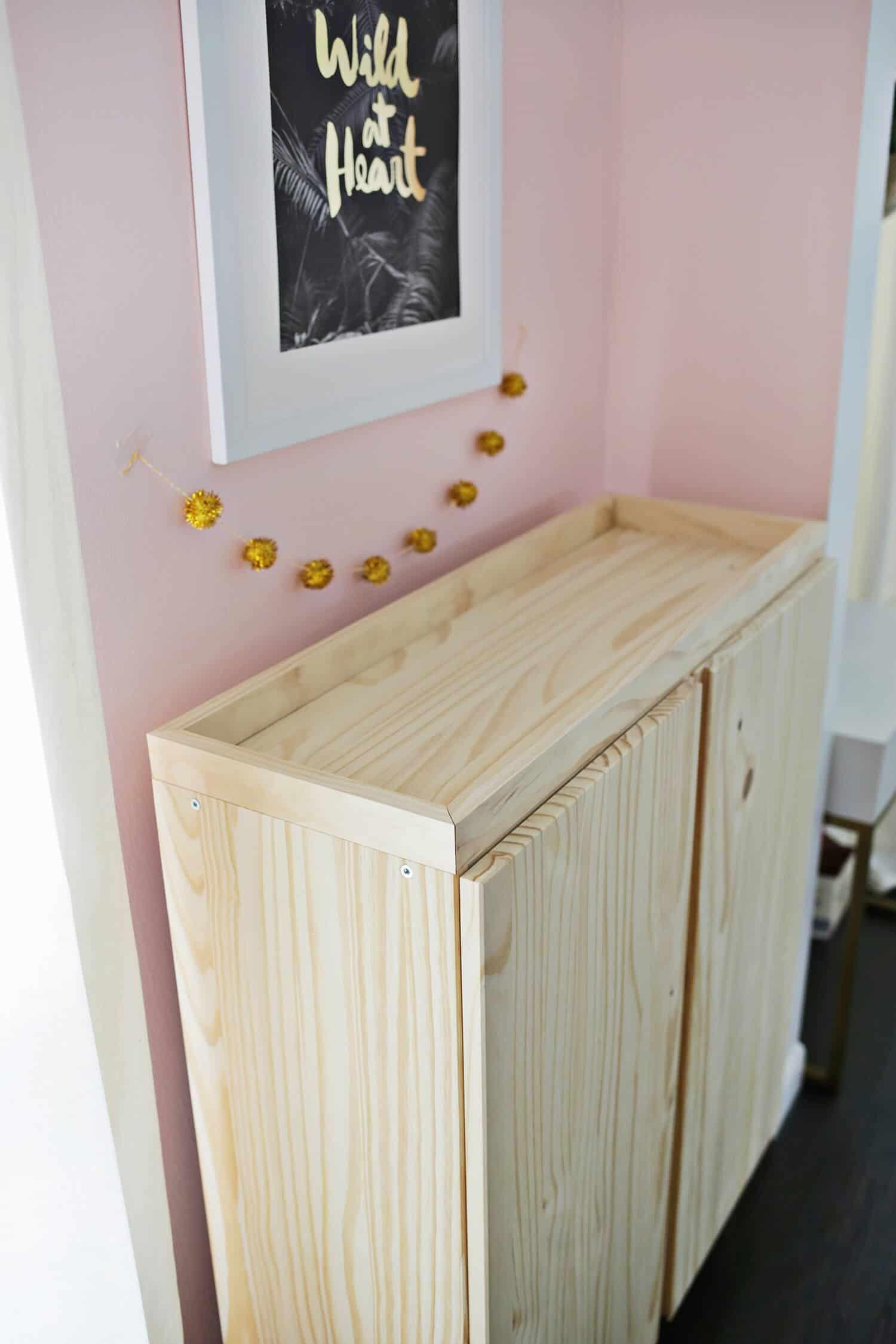 Ikea IVAR Cabinet Hack (Turned Into A Bar Cabinet!) - A ...