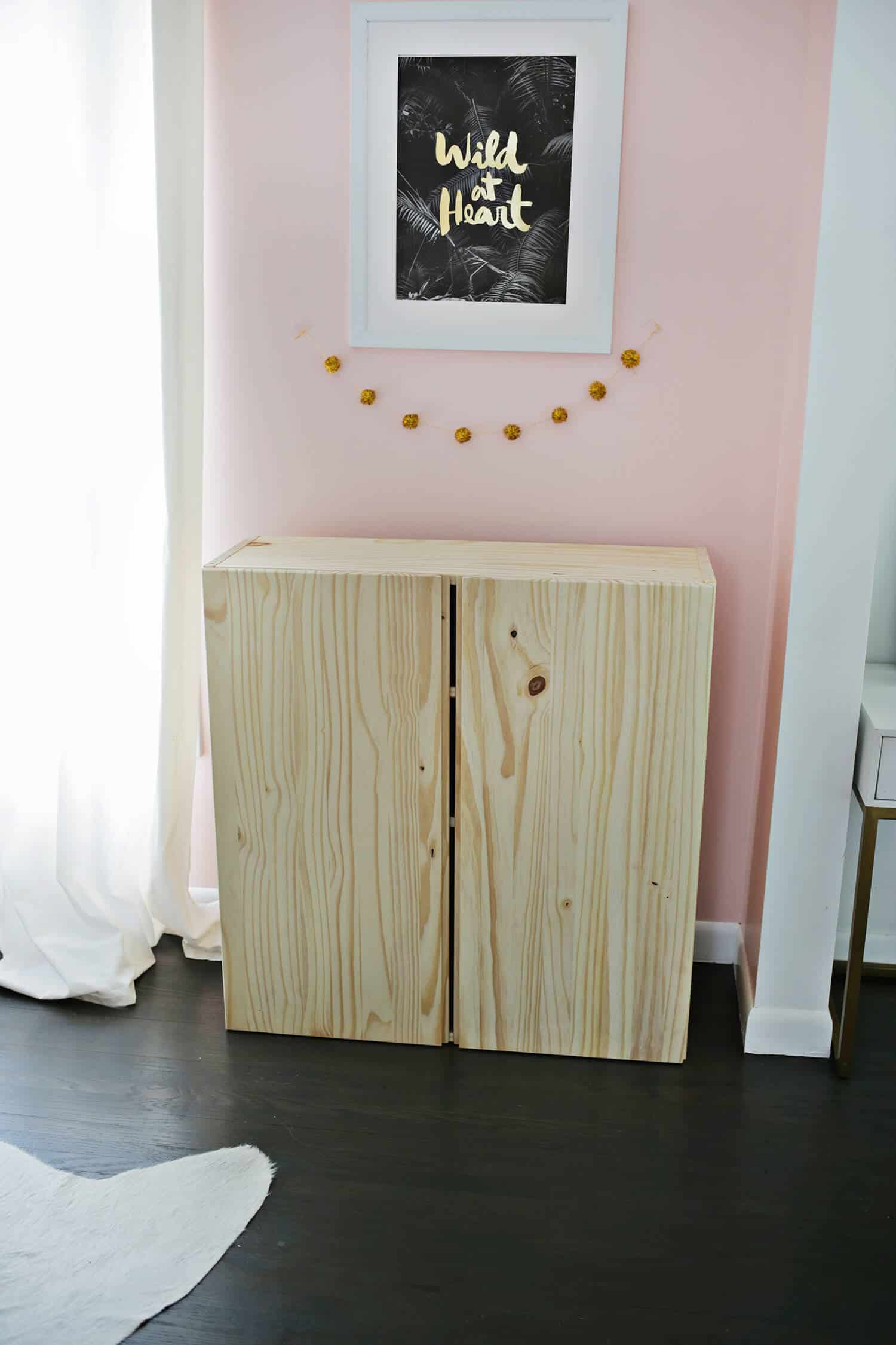 ikea ivar cabinet hack turned into a bar cabinet a. Black Bedroom Furniture Sets. Home Design Ideas