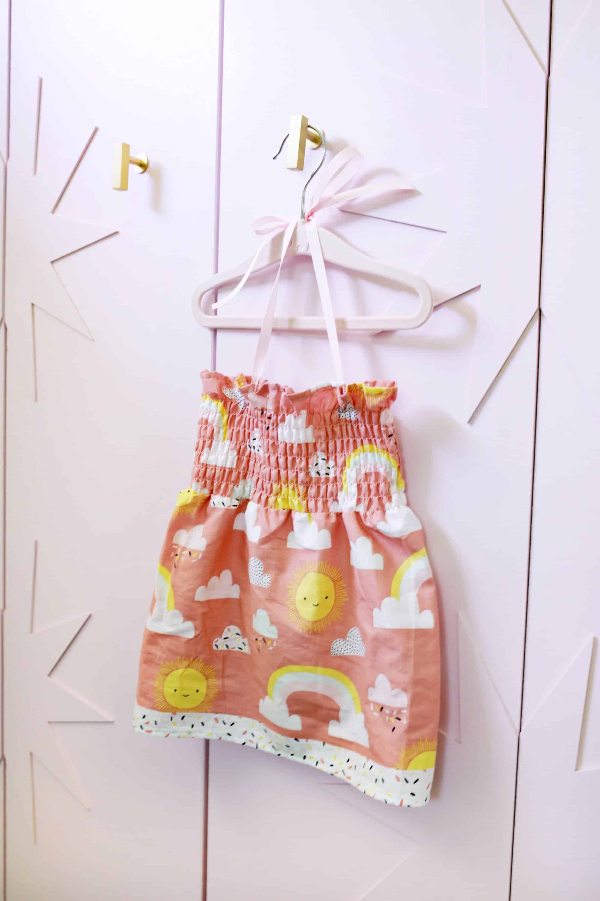 fb325fddd273 Make A Summer Baby Dress in Only 20 Minutes! - A Beautiful Mess
