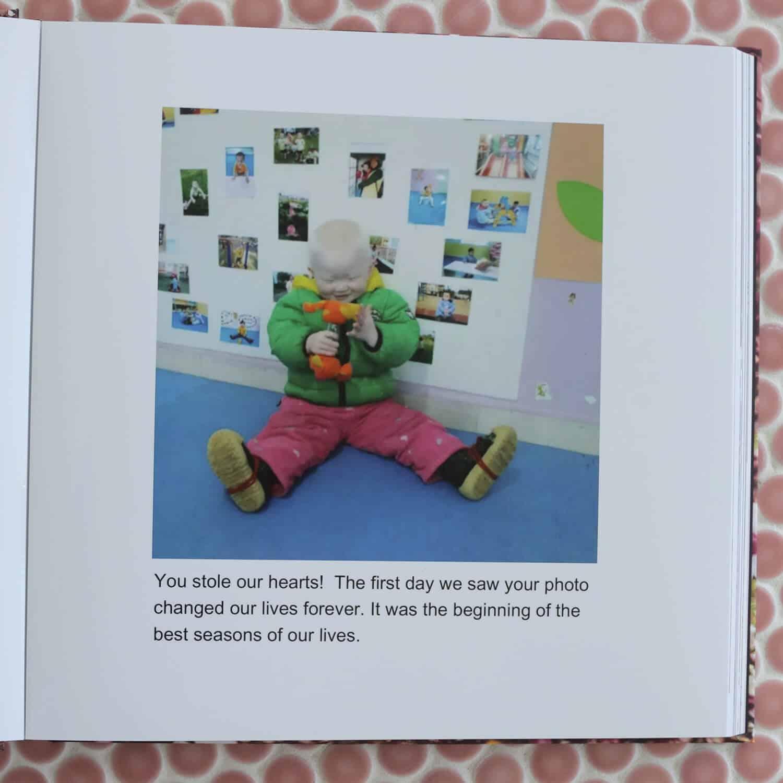 Nova's Adoption Story Photo Book - A Beautiful Mess
