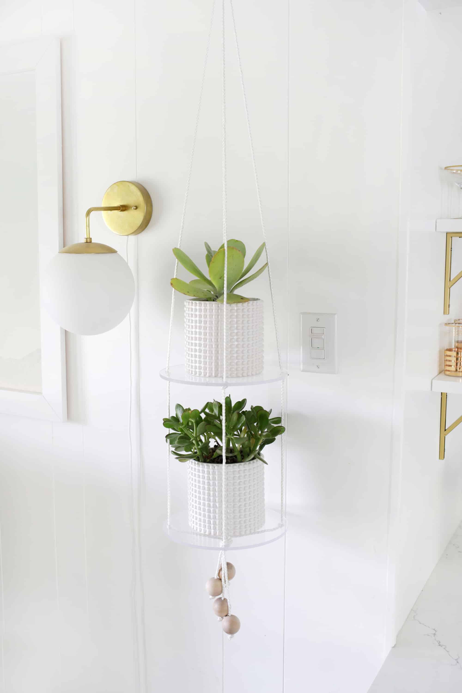 Plant Shelf Styling