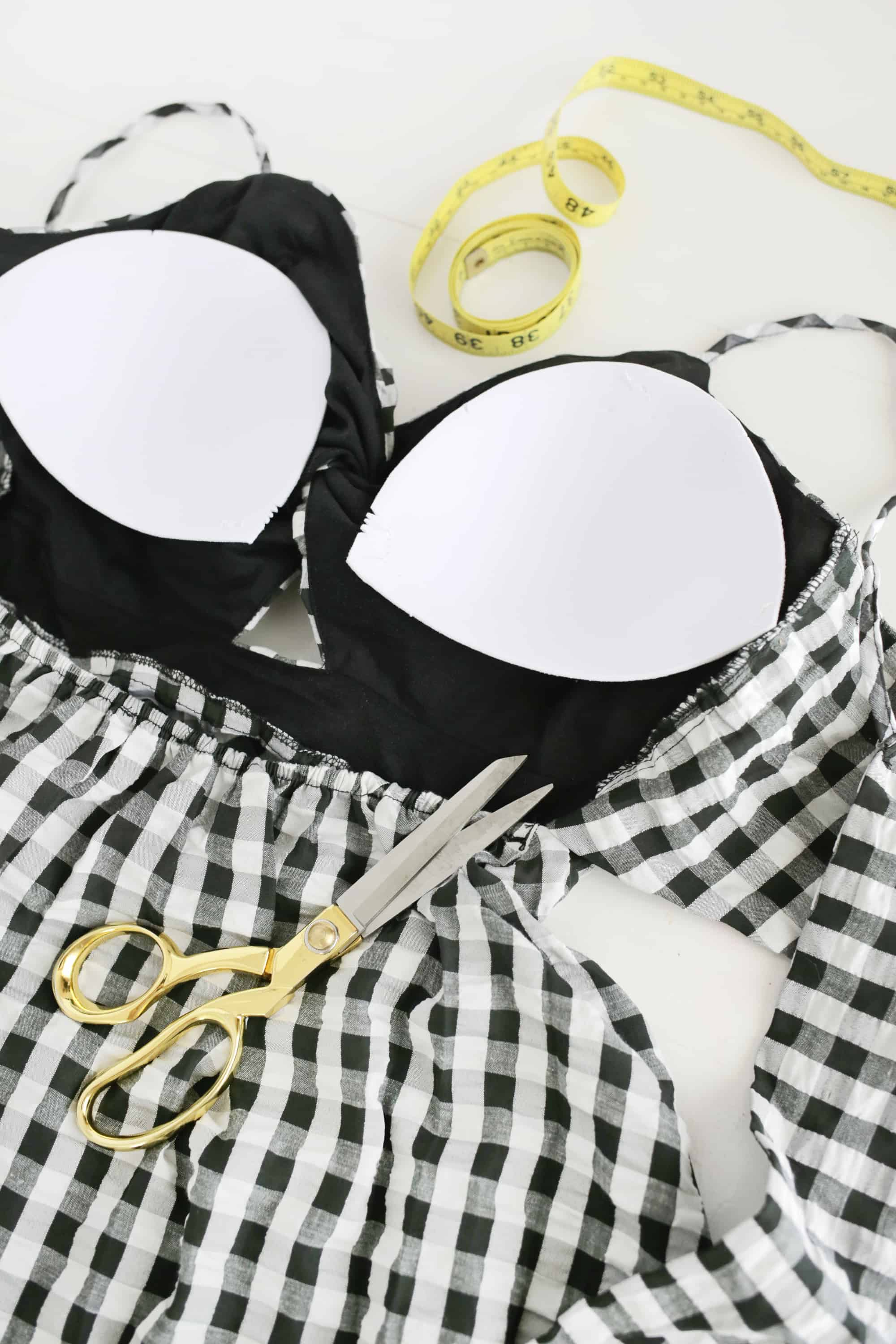 e9cfbd32b0 How To Add A Built-In-Bra To Clothing - A Beautiful Mess