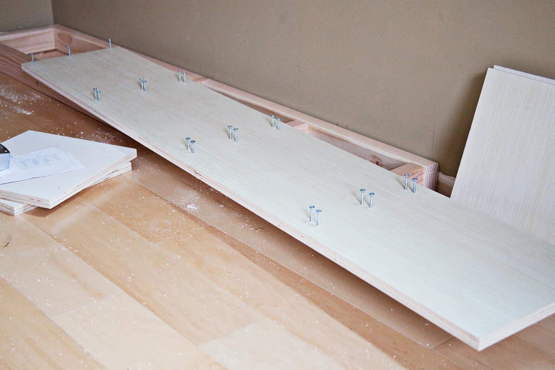 DIY Built-In Bookcase — IKEA Billy Hack