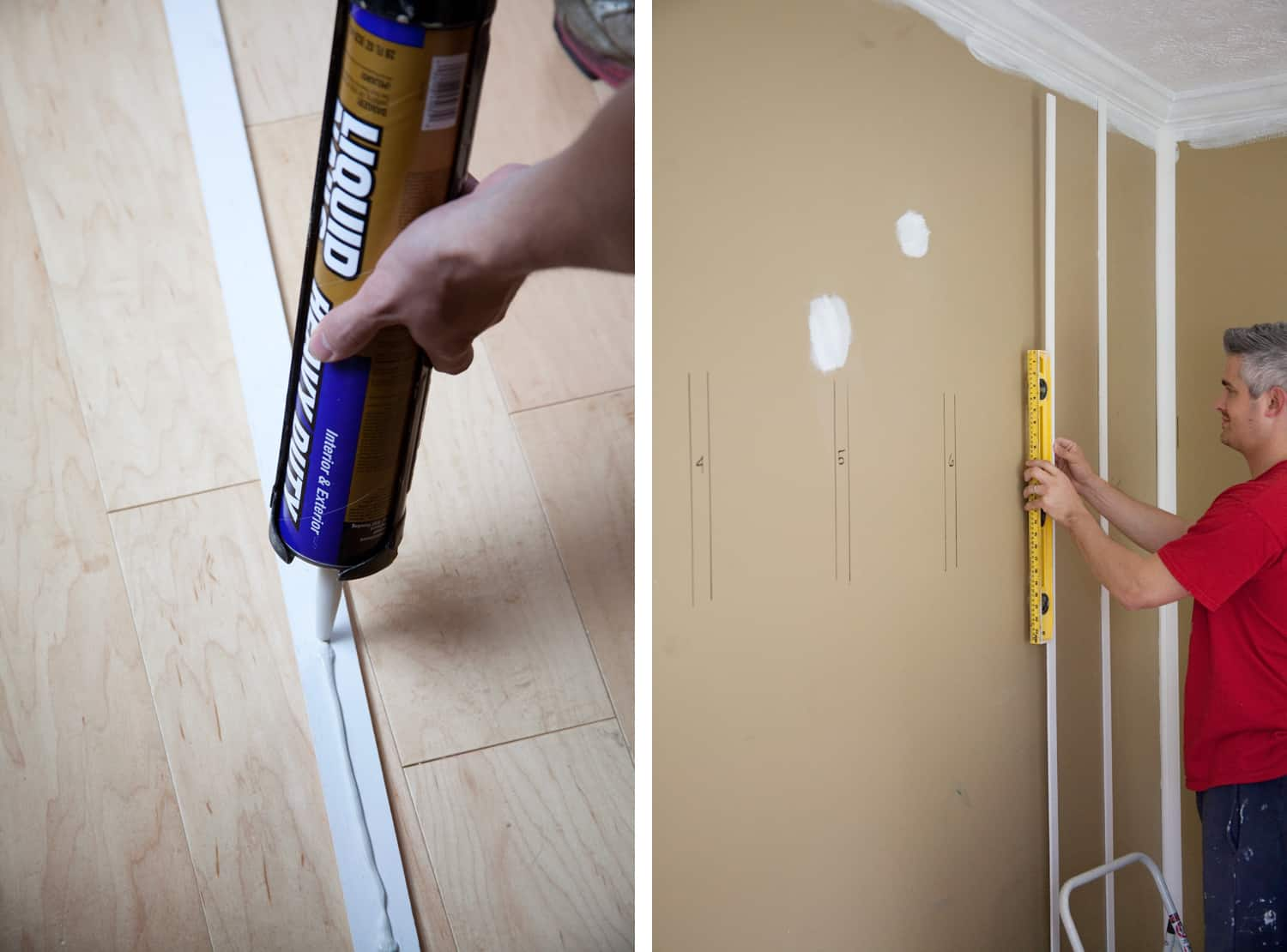 Inexpensive DIY Board and Batten Wall Tutorial