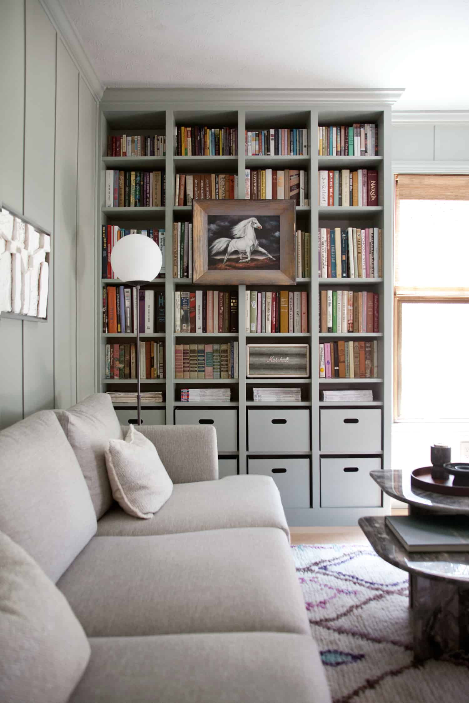 DIY Built-In Bookshelves — IKEA Billy Bookcase Hack