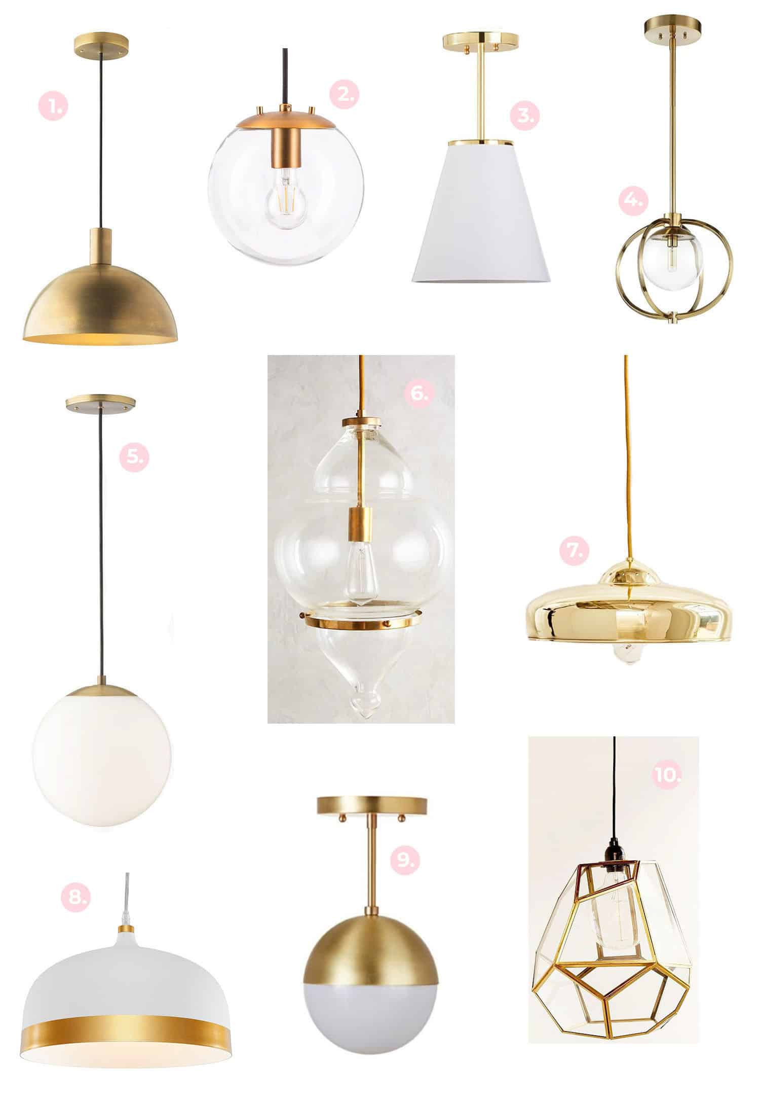 I use pendants the most for bathrooms and bedrooms they are awesome to balance between or over mirrors a row of them can be super cute over an island as