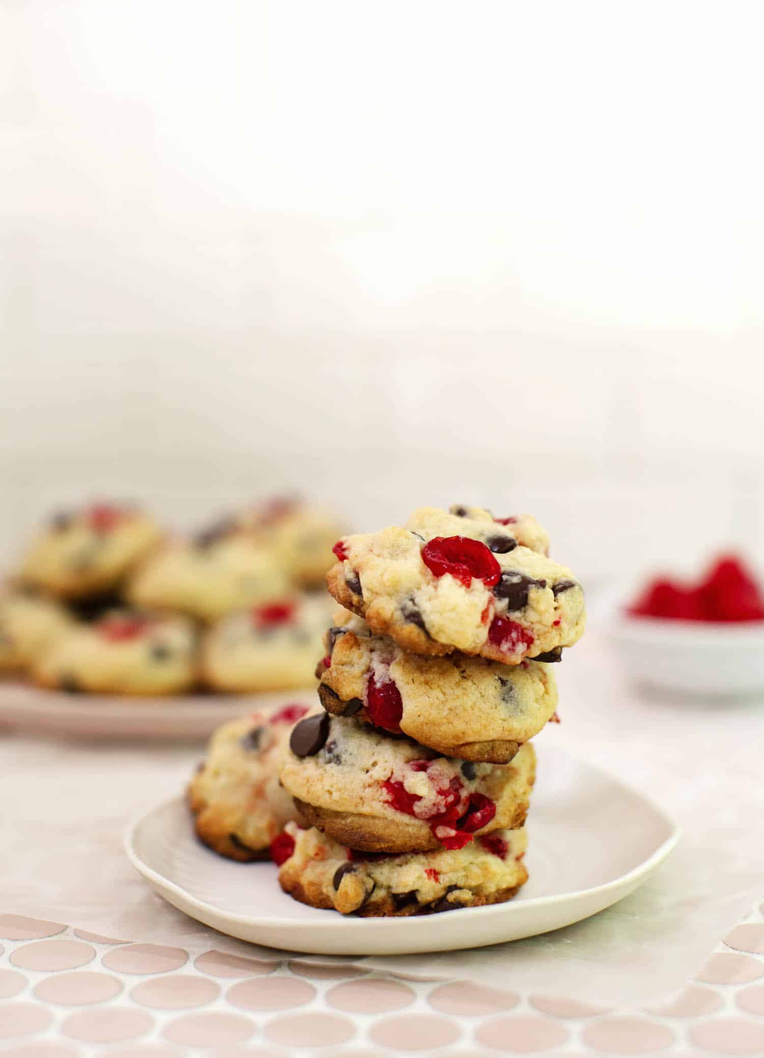 Chocolate Covered Cherry Cookies A Beautiful Mess