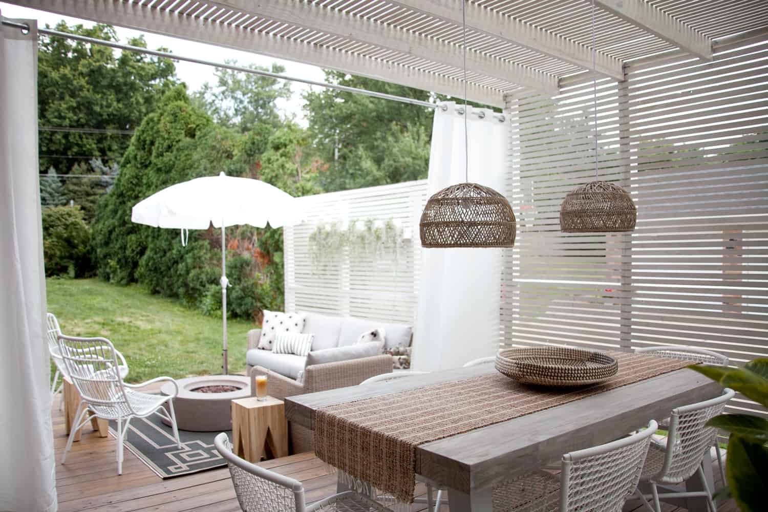 Tips for Decorating an Outdoor Living Space - A Beautiful Mess