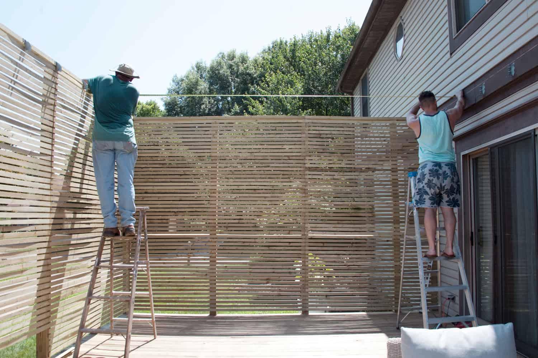 building a pergola
