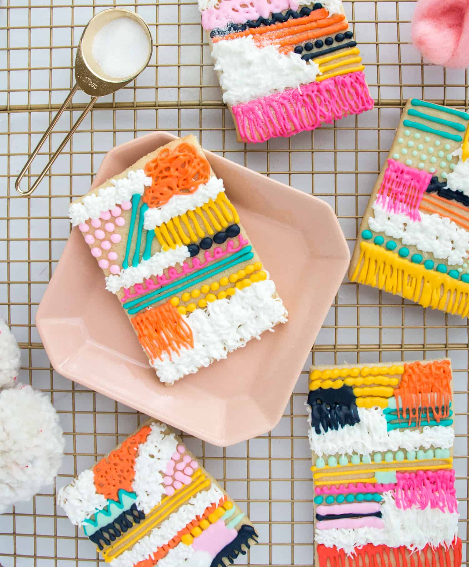 Make Wall Weaving Sugar Cookies