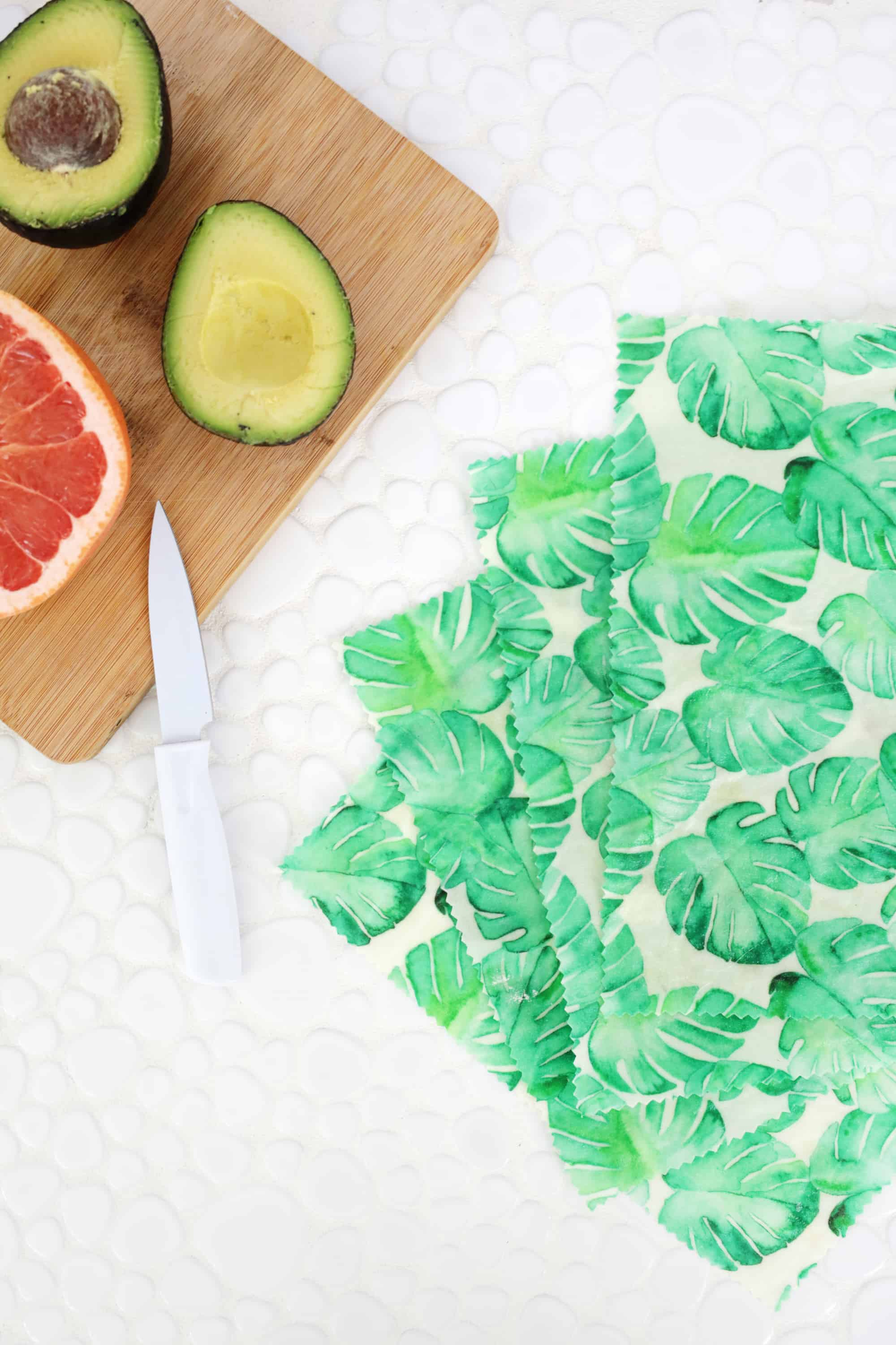 Make Your Own Beeswax Food Wraps! - A Beautiful Mess