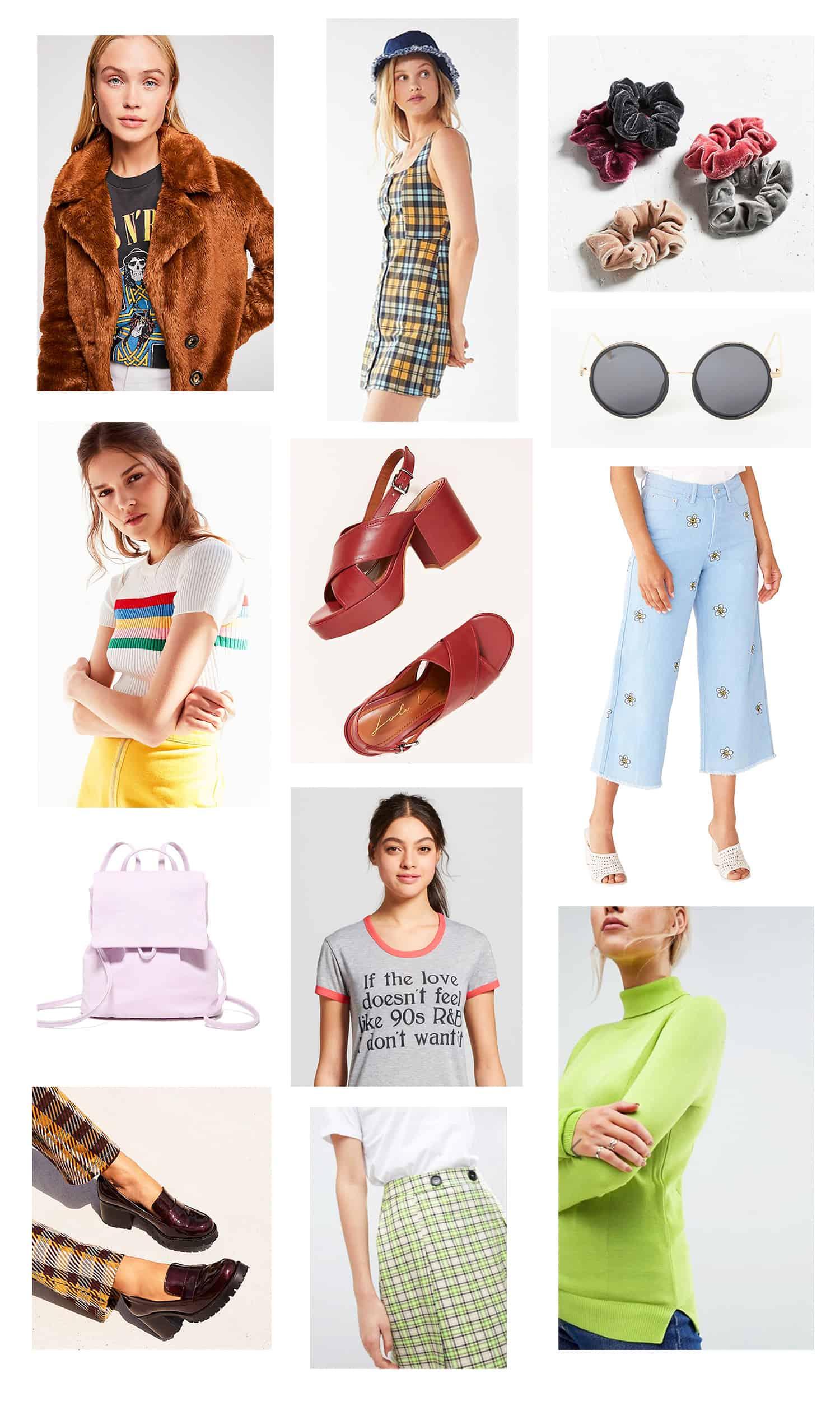 '90s Fall Fashion Wishlist - A Beautiful Mess