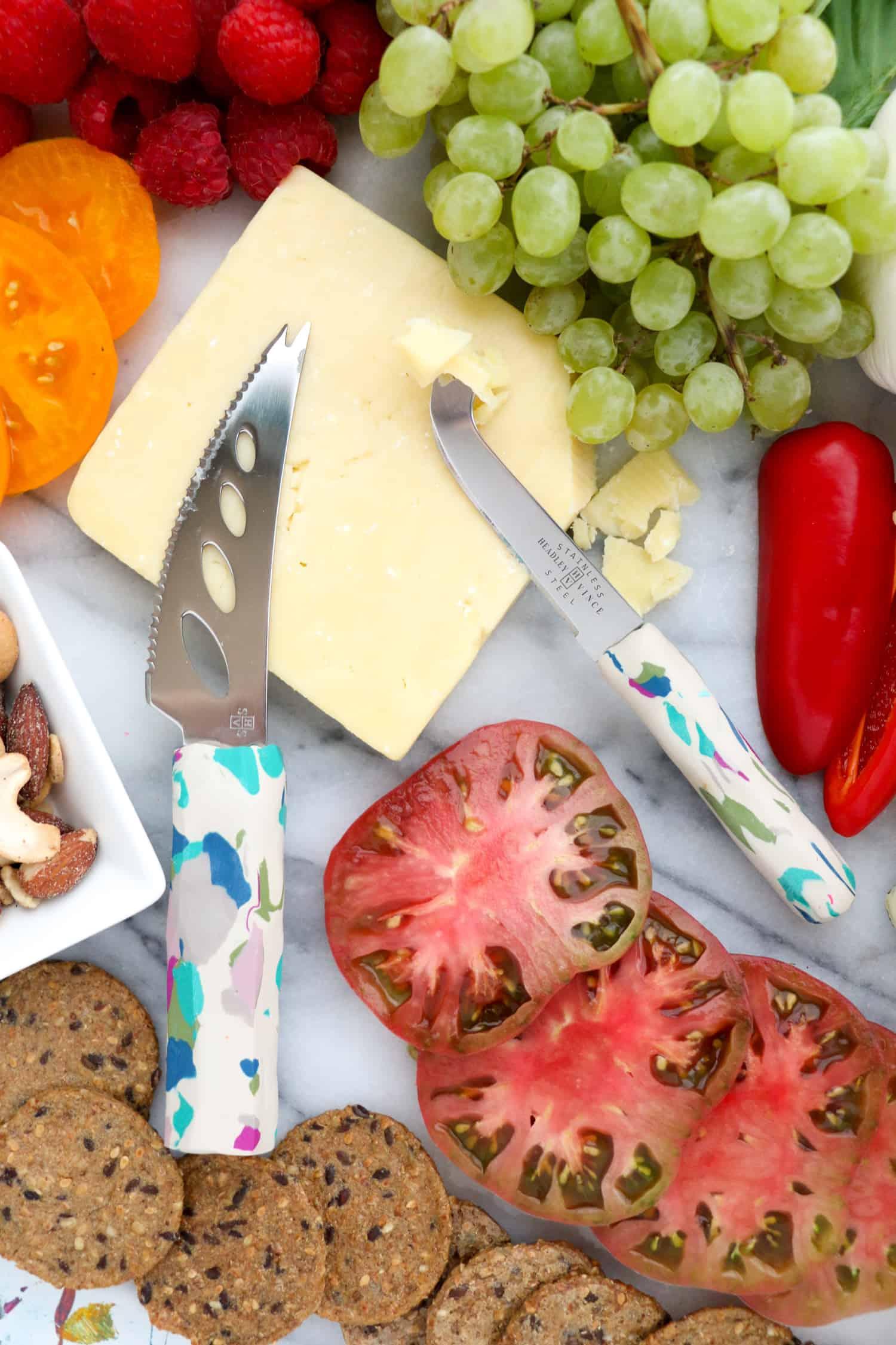 DIY Terrazzo Cheese Knives