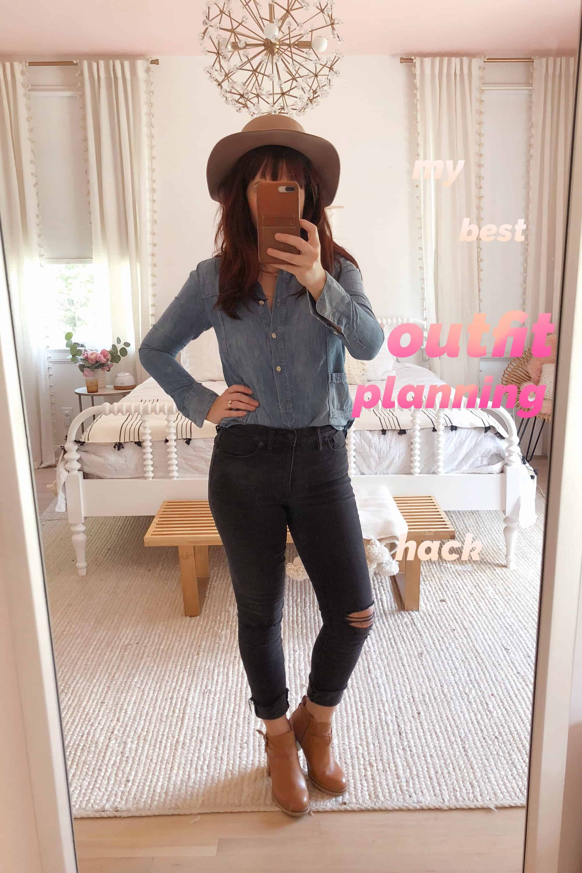 Part 2 My Best Outfit Planning Hack A Beautiful Mess