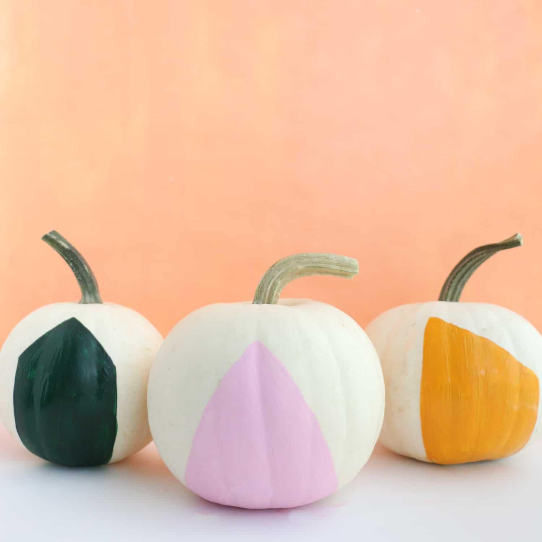 DIY Mini Playhouse Pumpkins