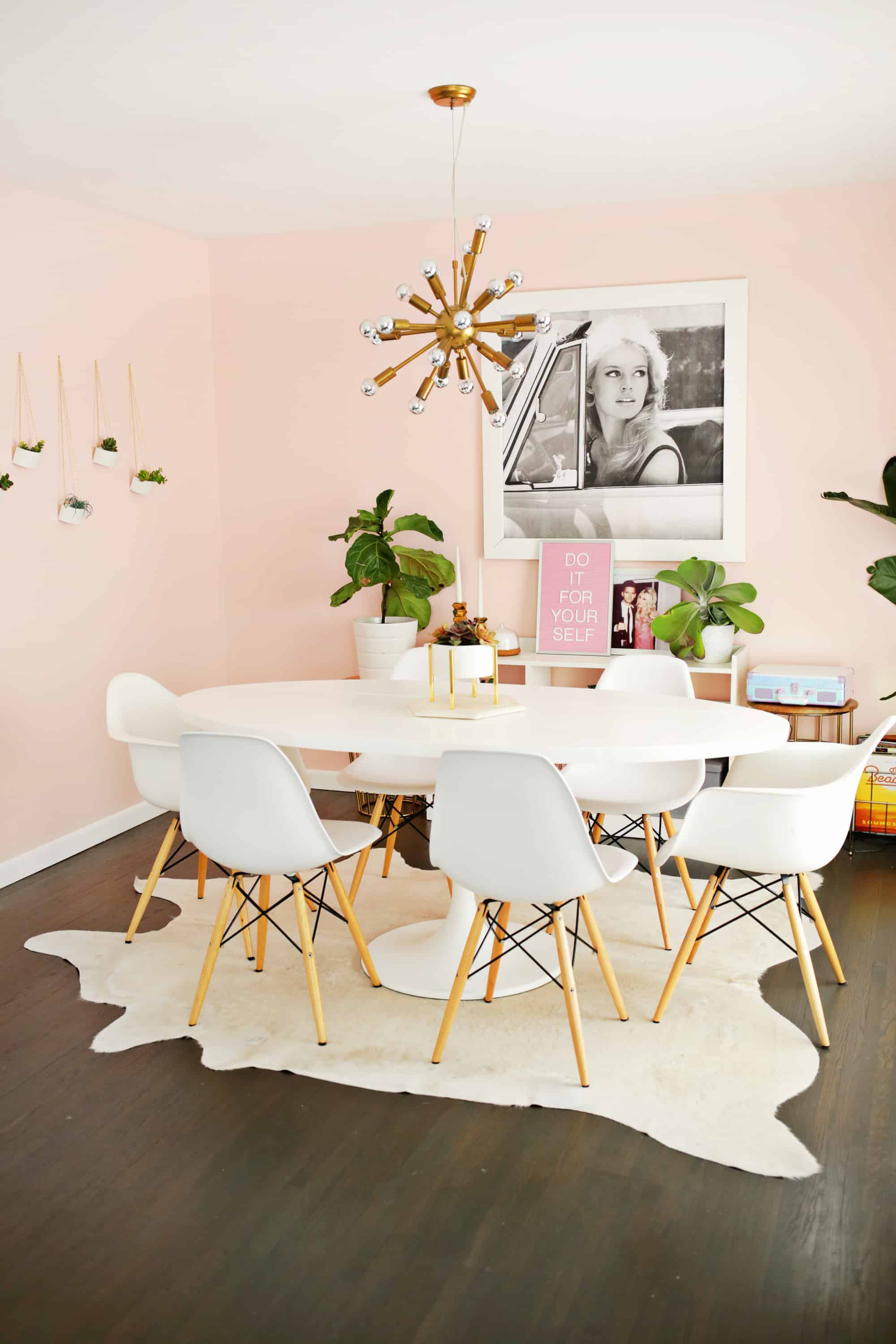 ikea docksta table hack a beautiful mess rh abeautifulmess com ikea white tulip table ikea tulip table and chairs