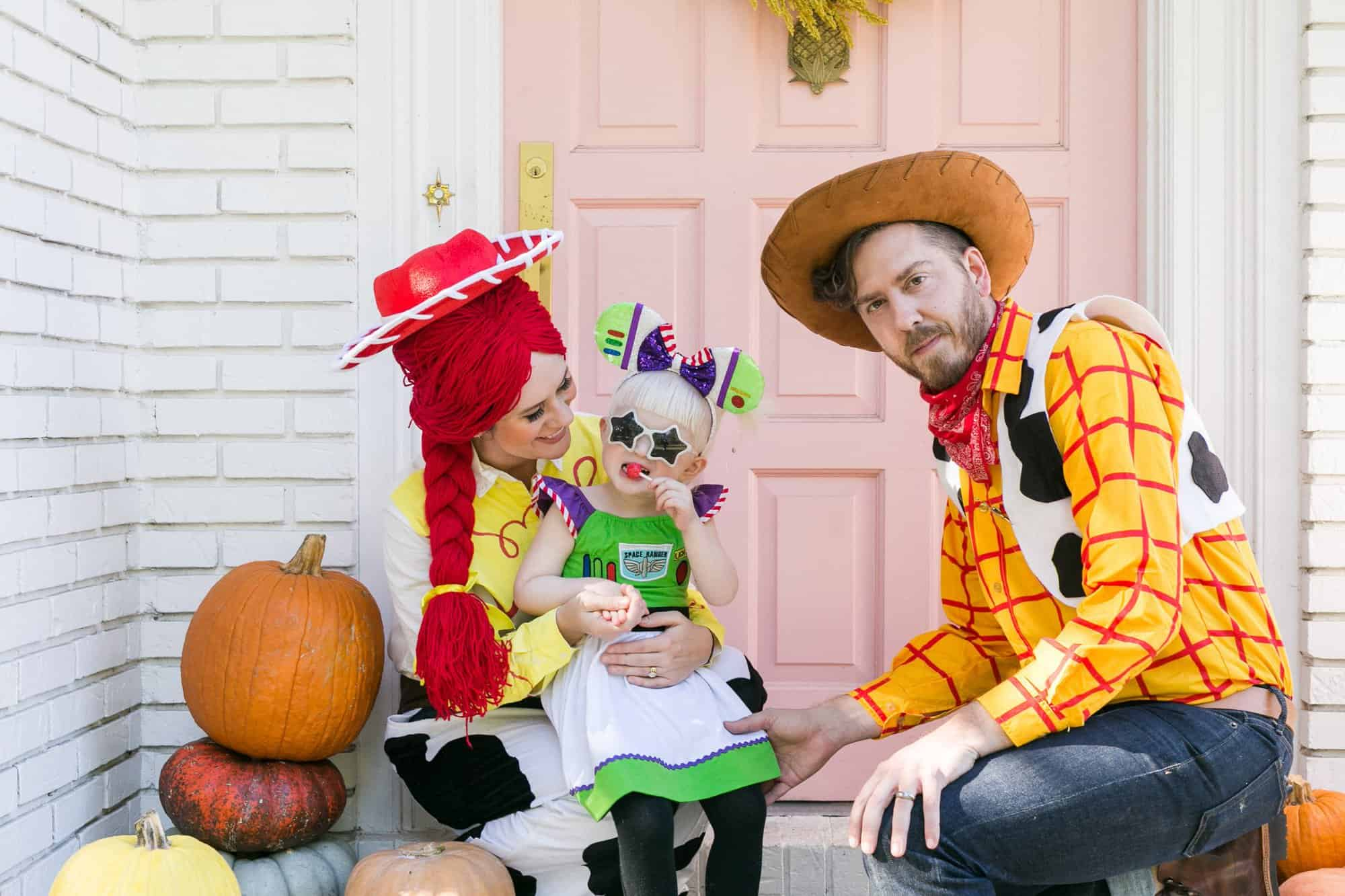 Toy Story Family Halloween Costume A Beautiful Mess