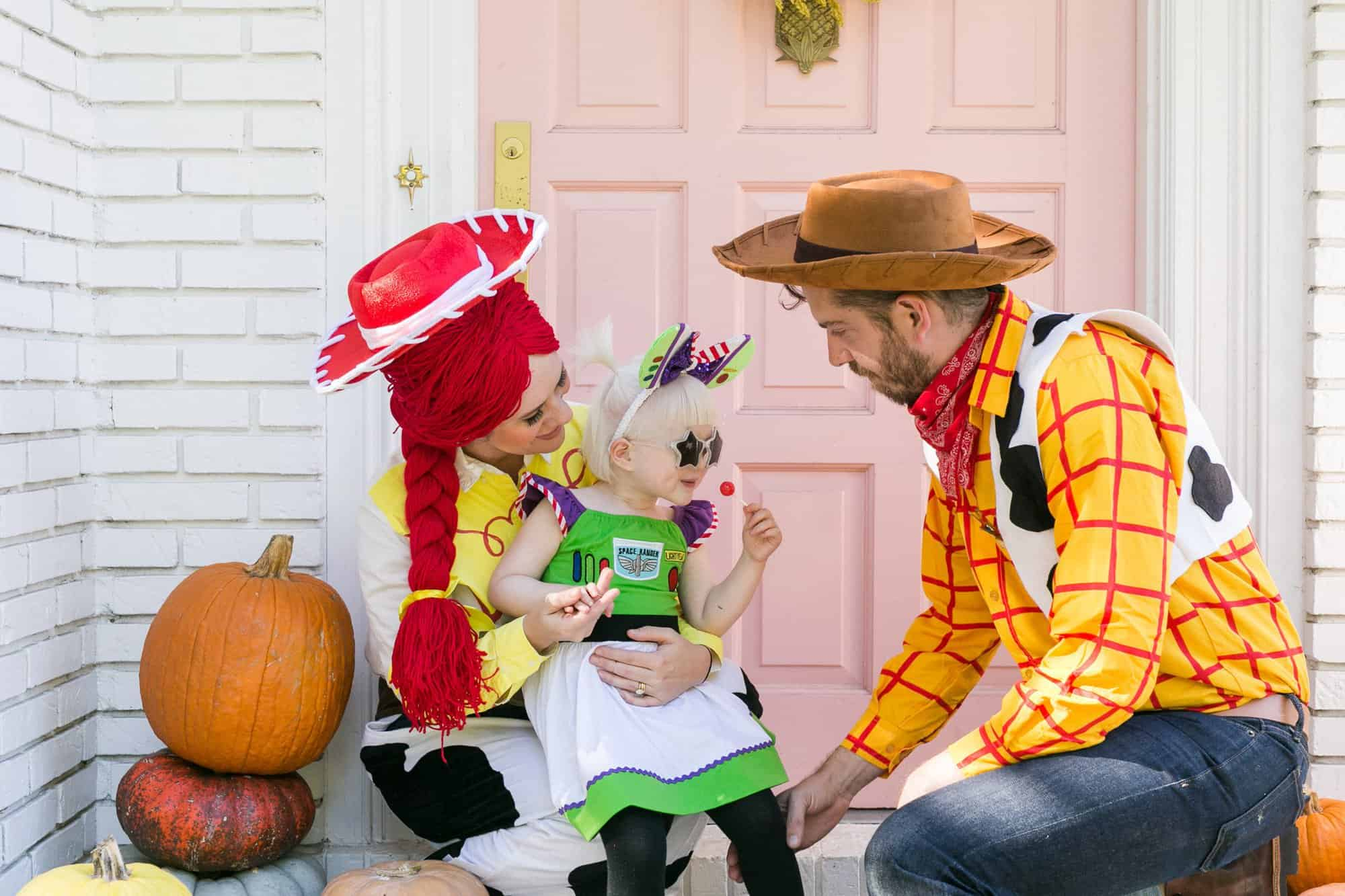 Toy Story 4 Halloween Costumes.Toy Story Family Halloween Costume A Beautiful Mess