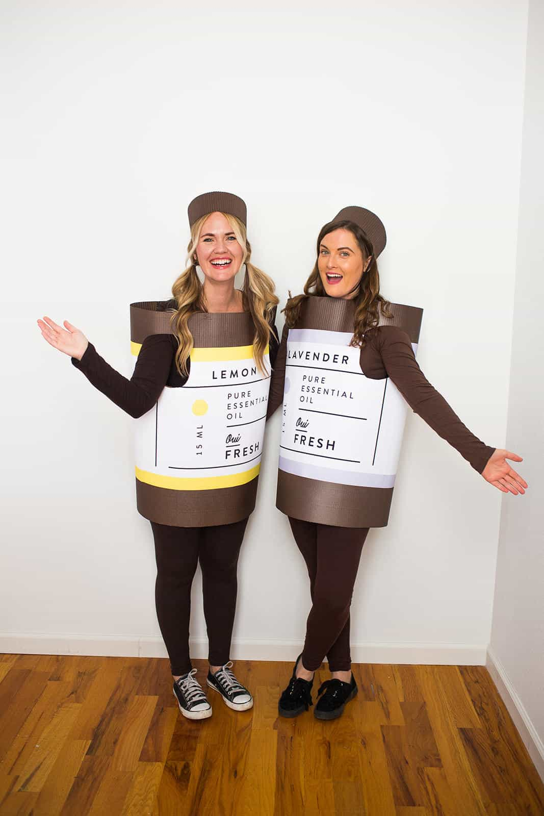 Halloween Costumes For Two Friends.Essential Oil Halloween Costume A Beautiful Mess