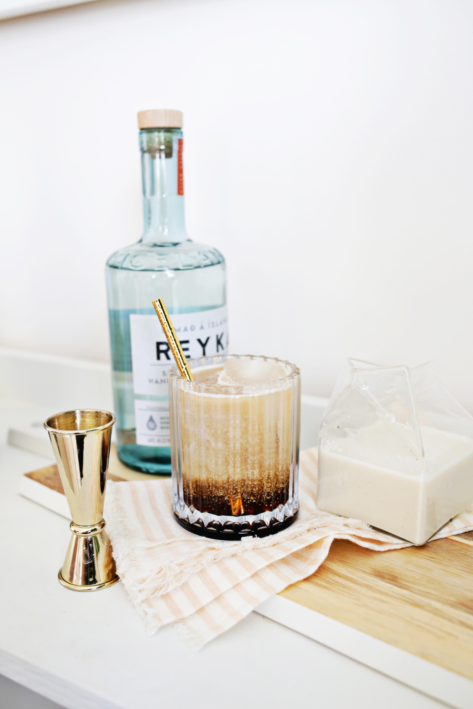 Non-Dairy White Russian Cocktail